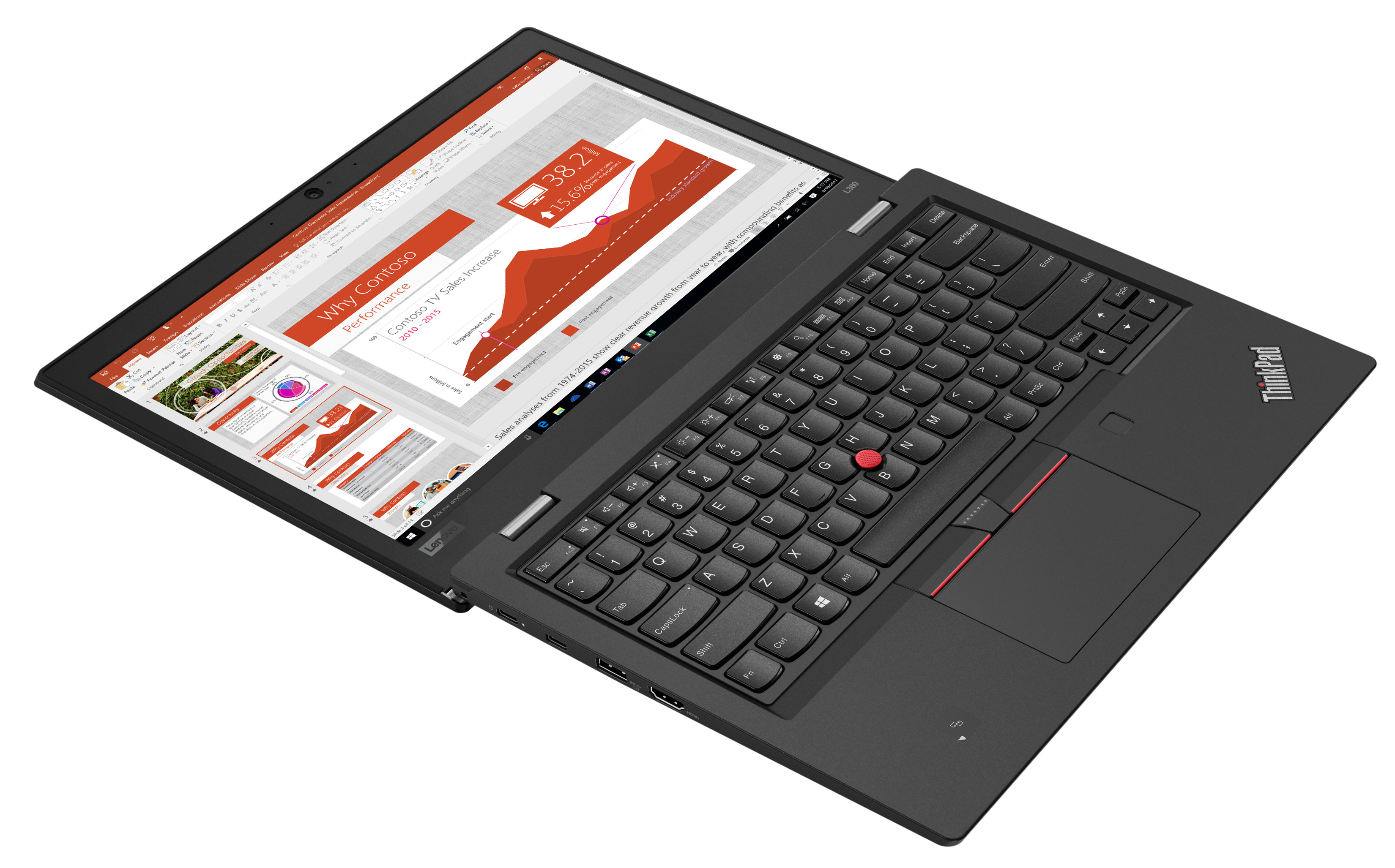 Фото  Ноутбук ThinkPad L380 (20M50022RT)