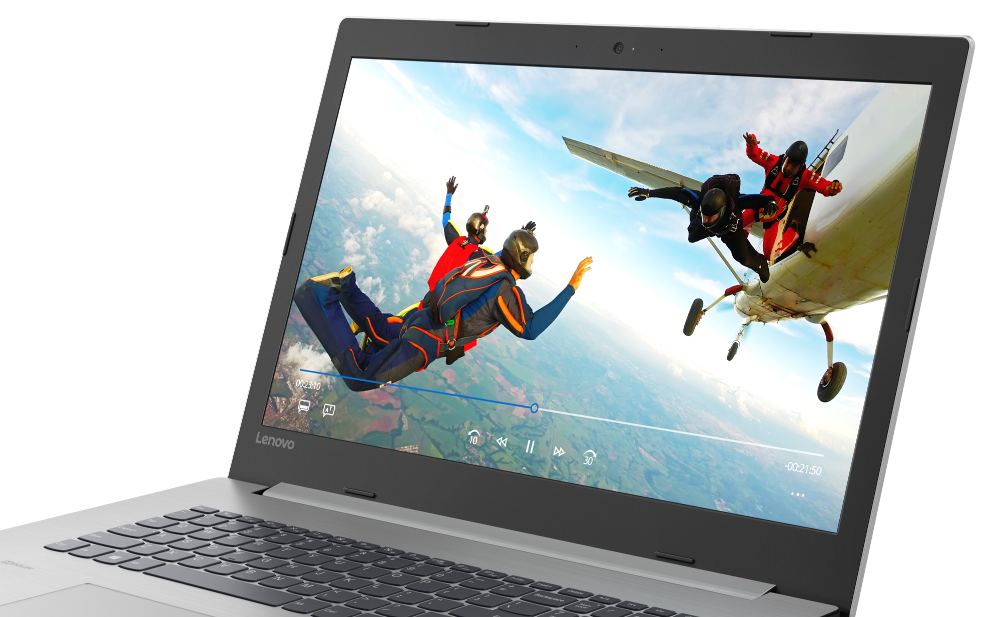 Фото  Ноутбук Lenovo ideapad 330-17IKB Platinum Grey (81DK002XRA)