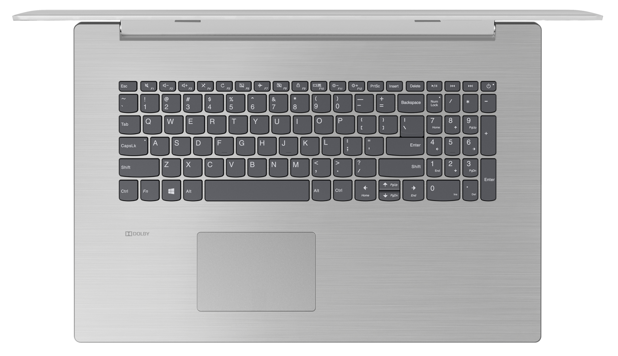 Фото  Ноутбук Lenovo ideapad 330-17IKBR Platinum Grey (81DM007JRA)