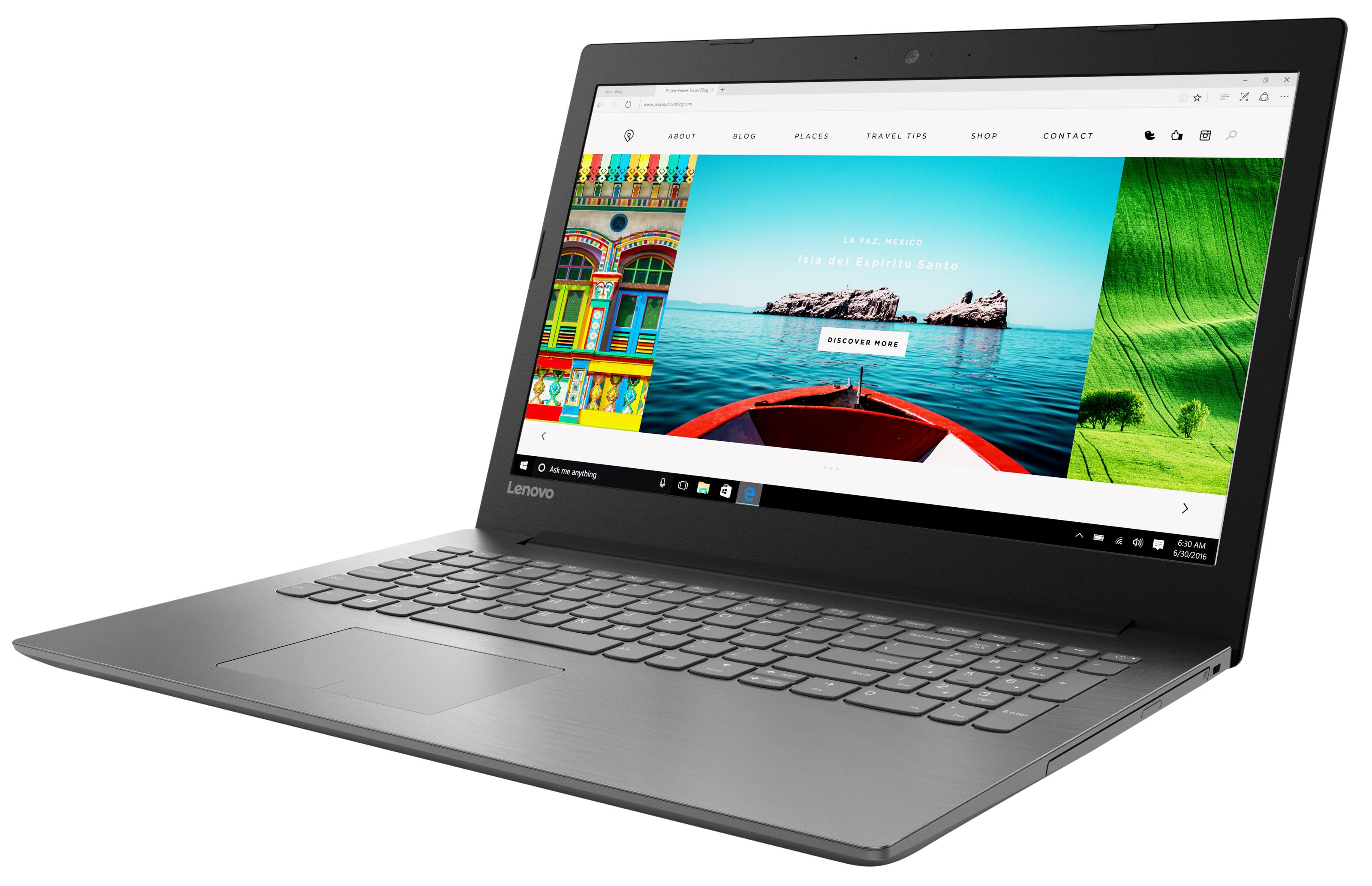 Фото  Ноутбук Lenovo ideapad 320-15ISK Onyx Black (80XH0234RA)
