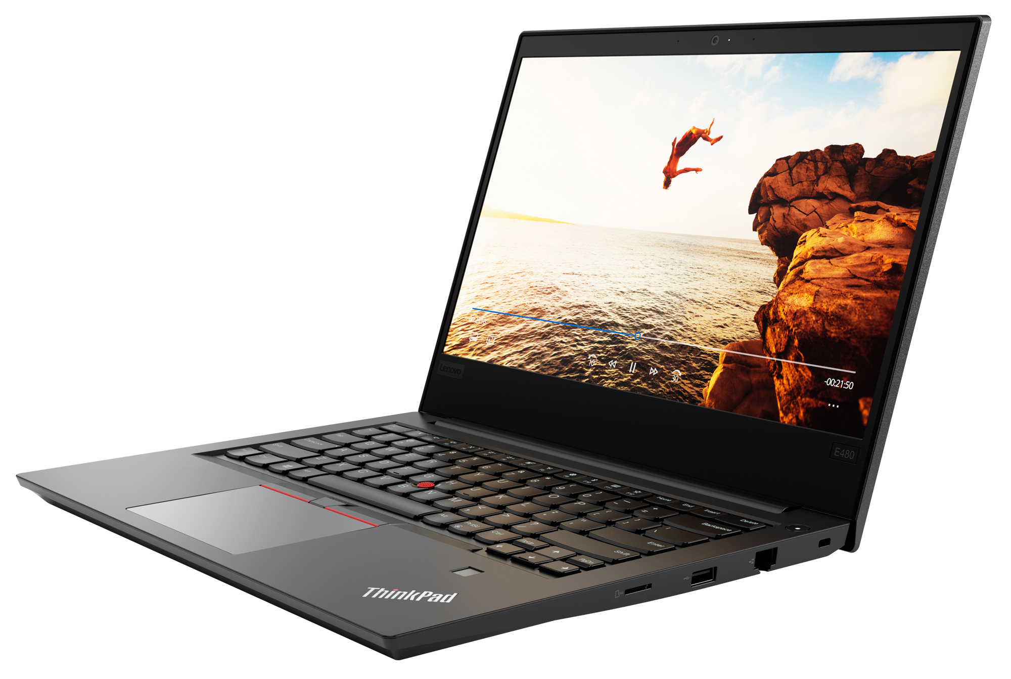 Фото  Ноутбук ThinkPad E480 (20KN001NRT)