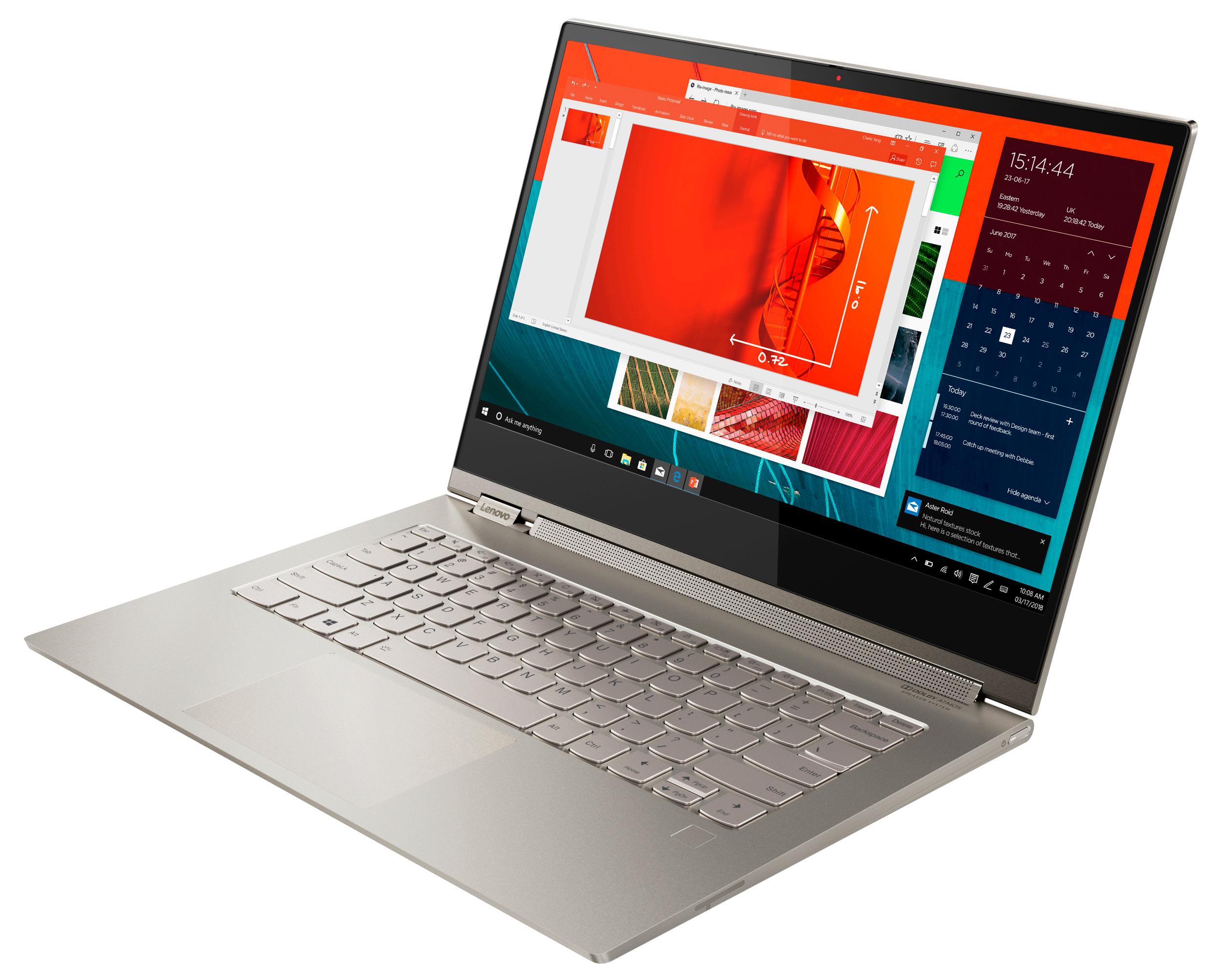 Фото  Ультрабук Lenovo Yoga C930 (81C400LLRA)