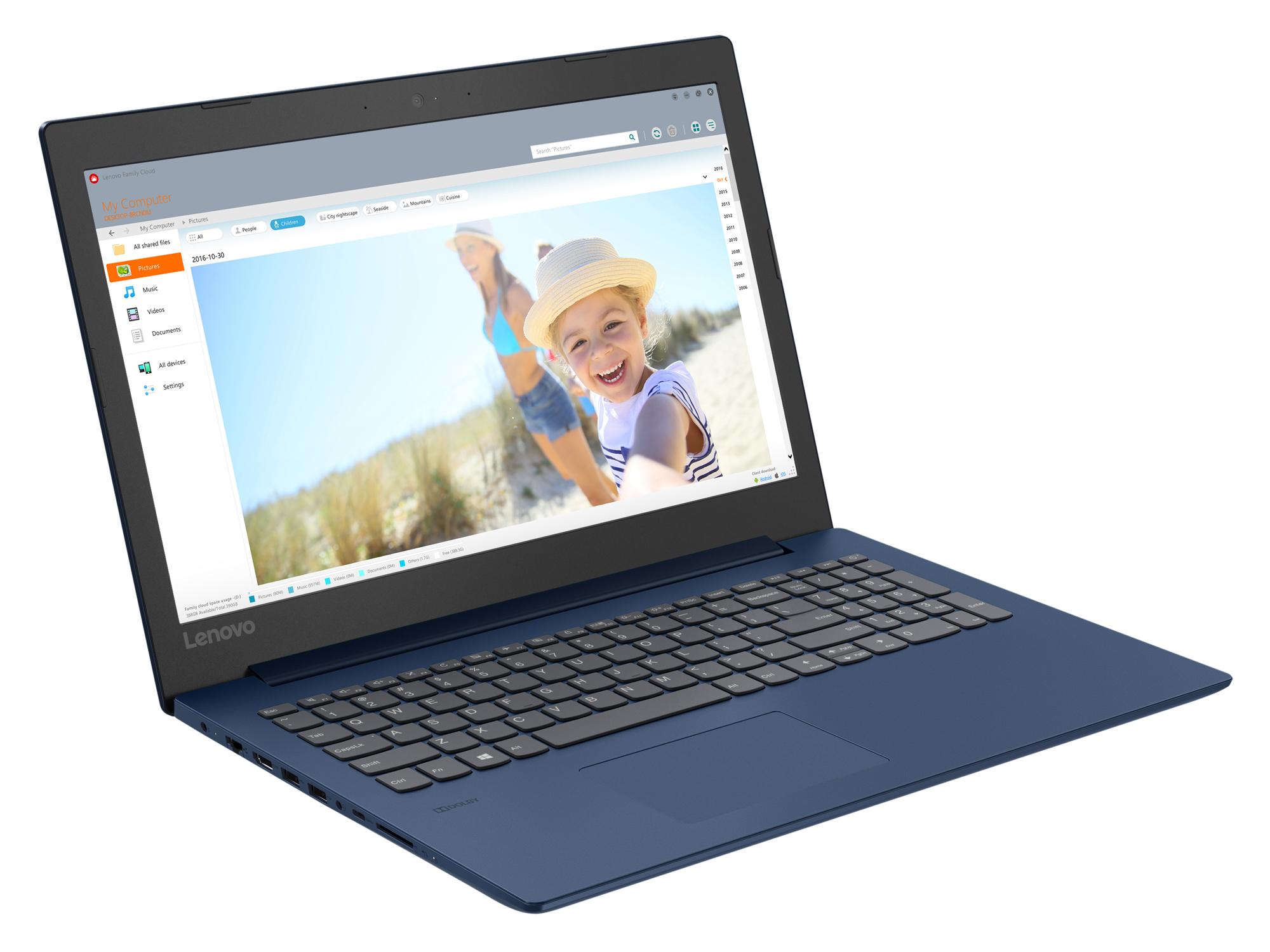 Фото  Ноутбук Lenovo ideapad 330-15 Midnight Blue (81DC009GRA)