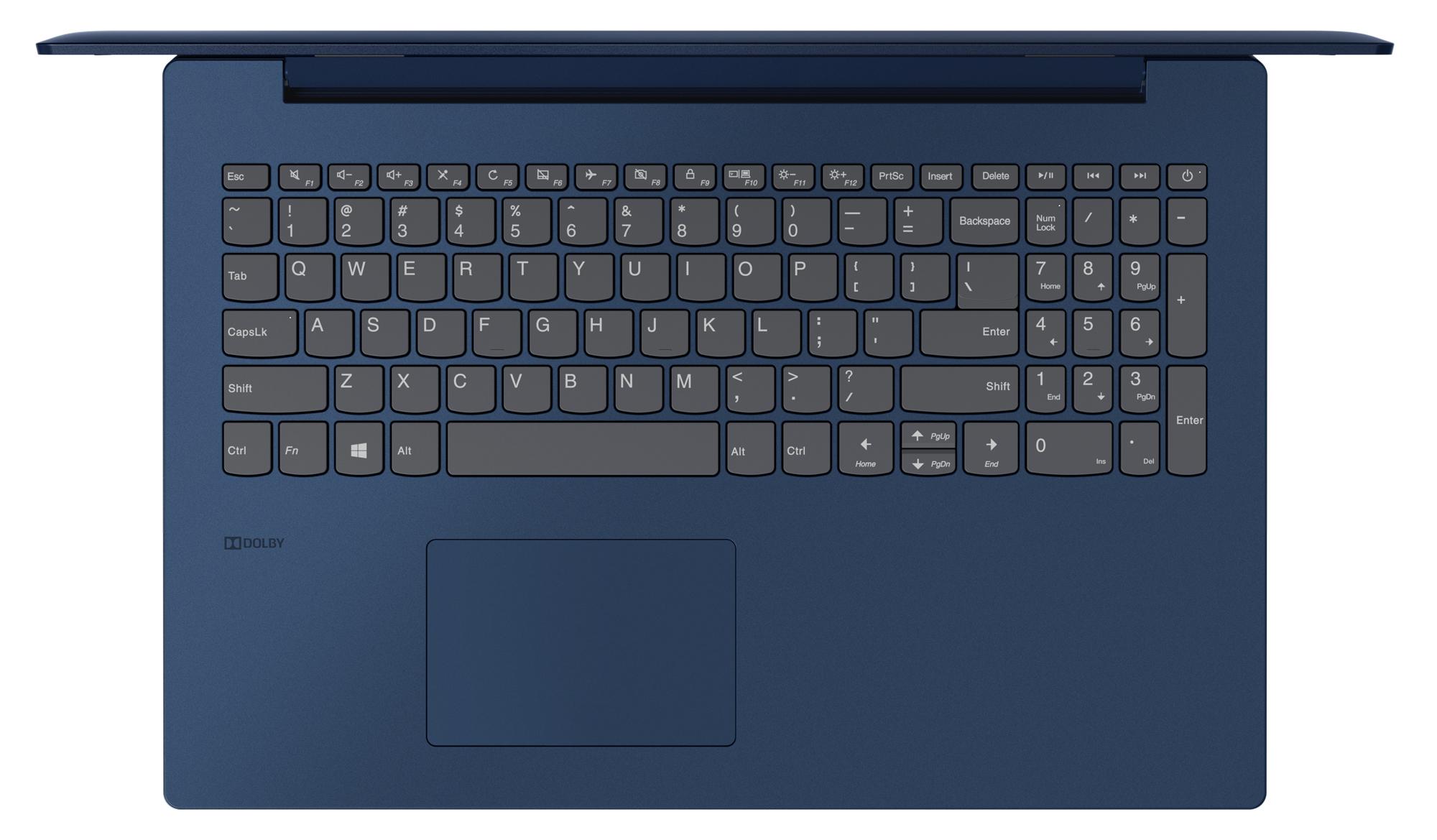 Фото  Ноутбук Lenovo ideapad 330-15 Midnight Blue (81D100HDRA)