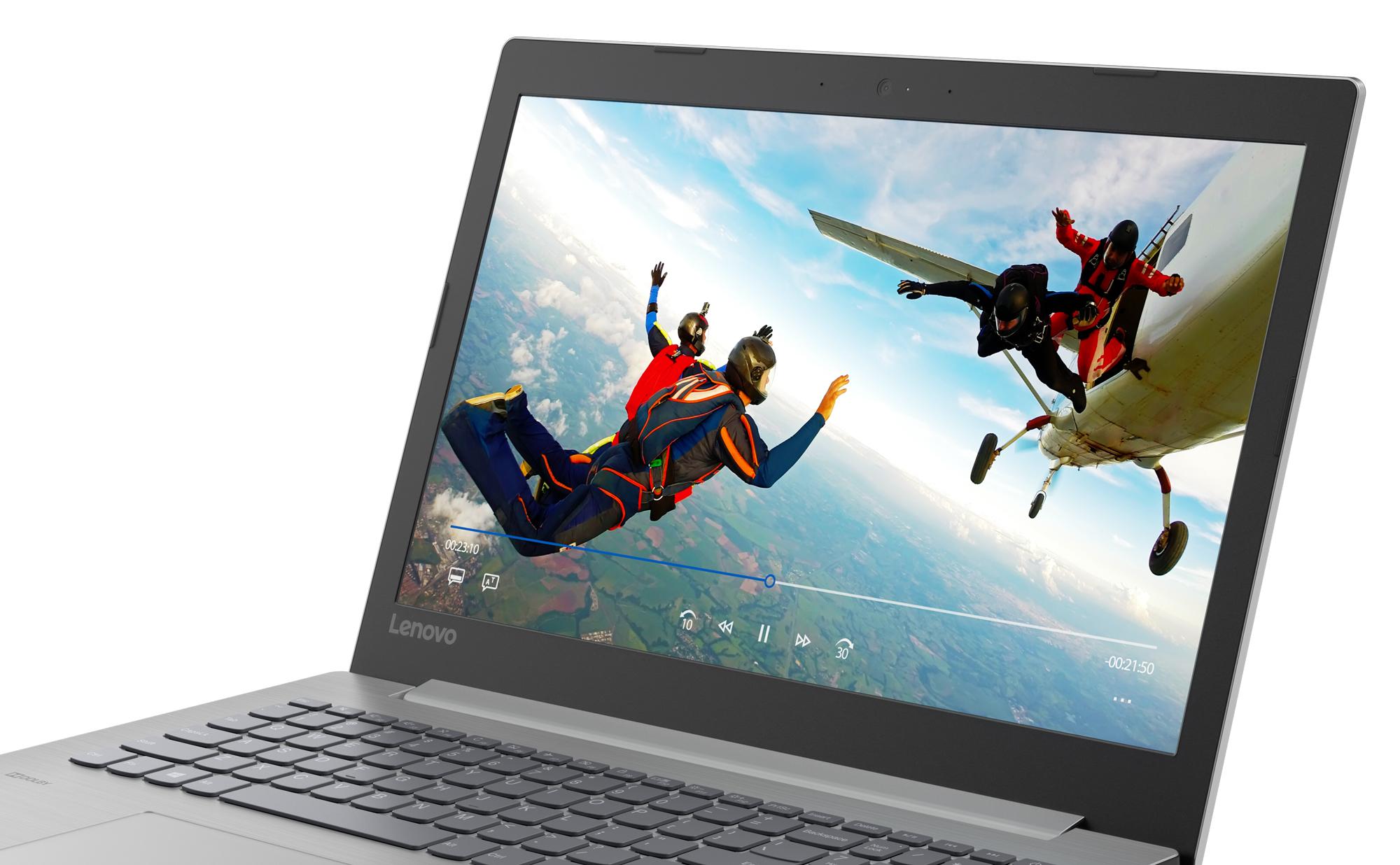 Фото  Ноутбук Lenovo ideapad 330-15 Platinum Grey (81D100MFRA)