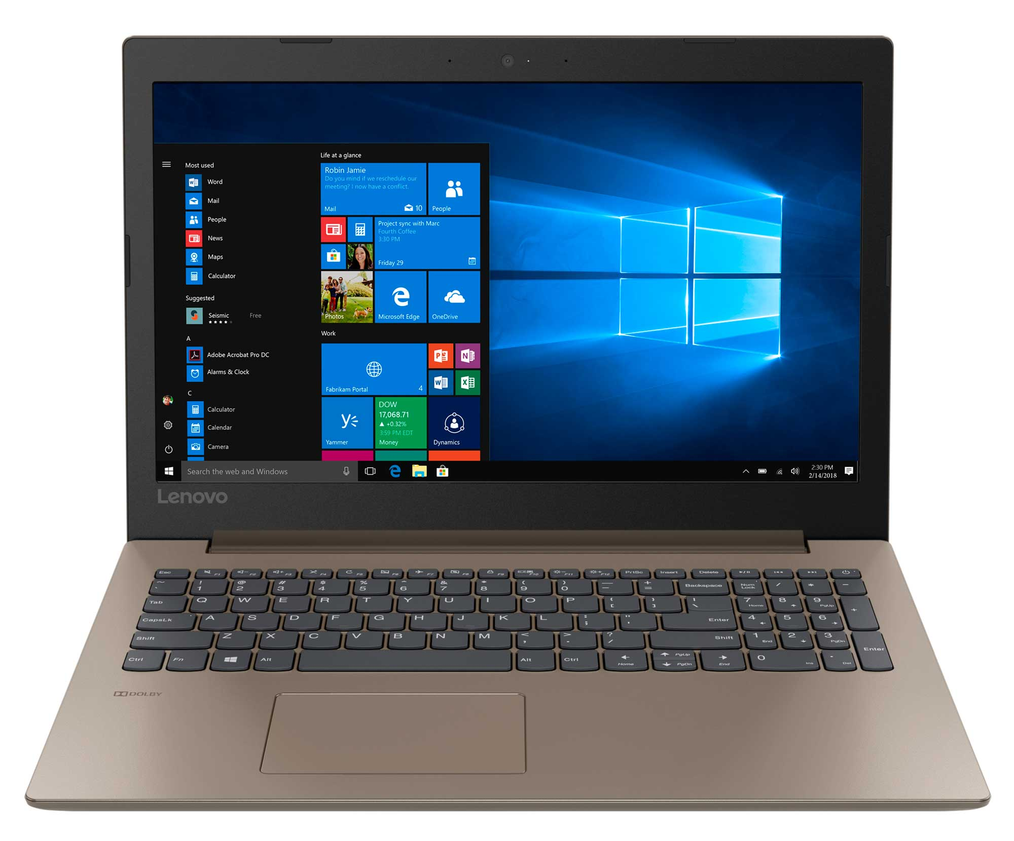 Фото  Ноутбук Lenovo ideapad 330-15 Chocolate (81DE01FDRA)