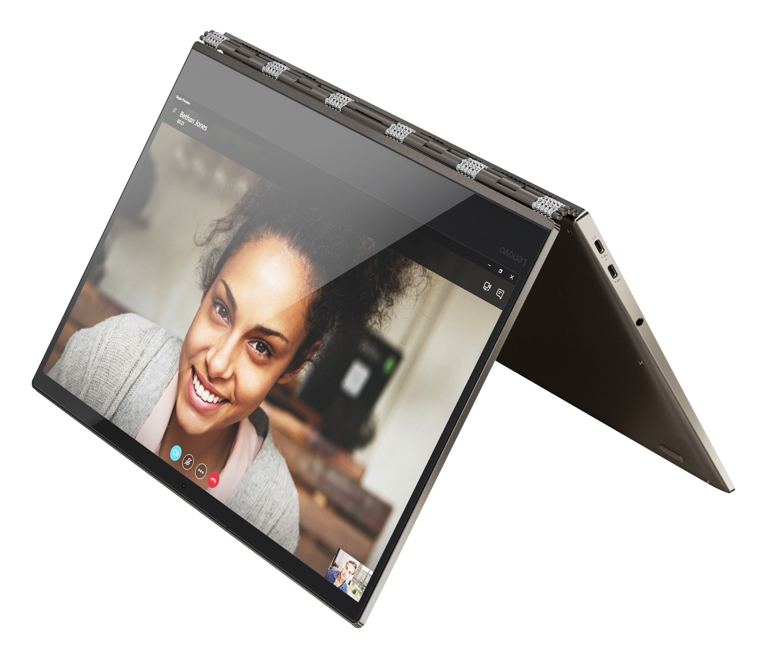 Фото  Ультрабук Lenovo Yoga 920 Bronze (80Y700A4RA)
