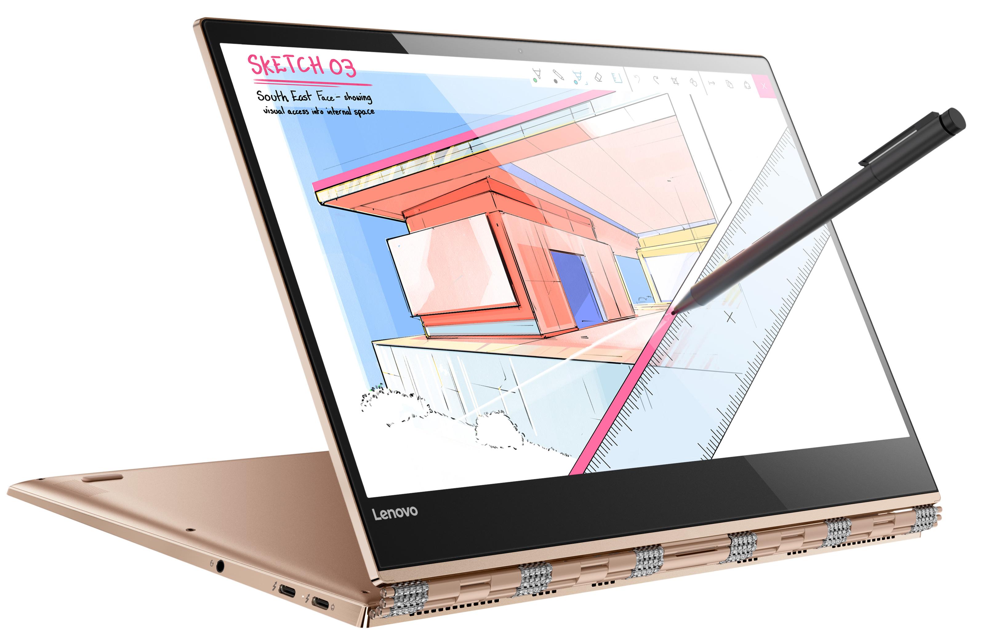 Фото  Ультрабук Lenovo Yoga 920 Copper (80Y700FQRA)