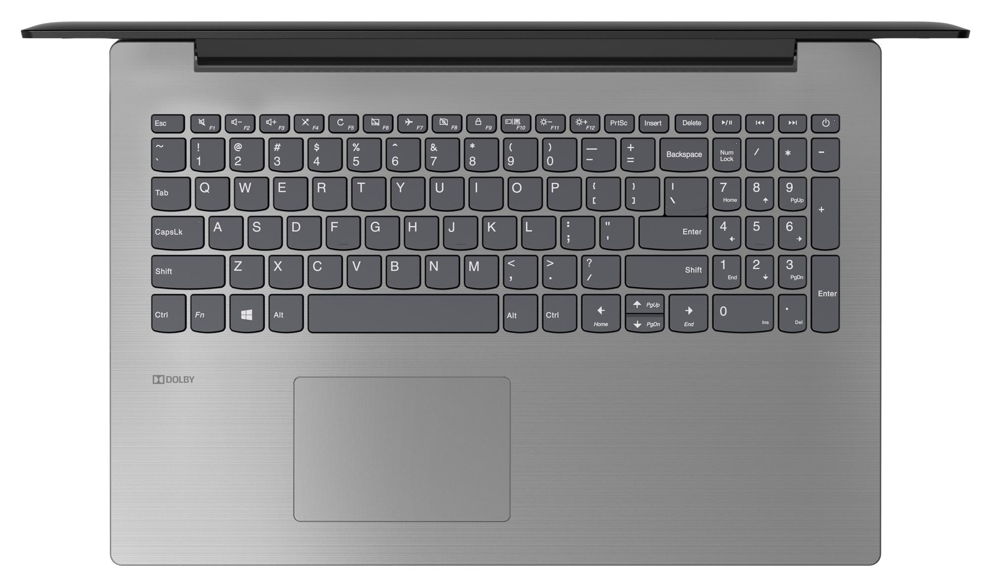 Фото  Ноутбук Lenovo ideapad 330-15 Onyx Black (81D100HGRA)