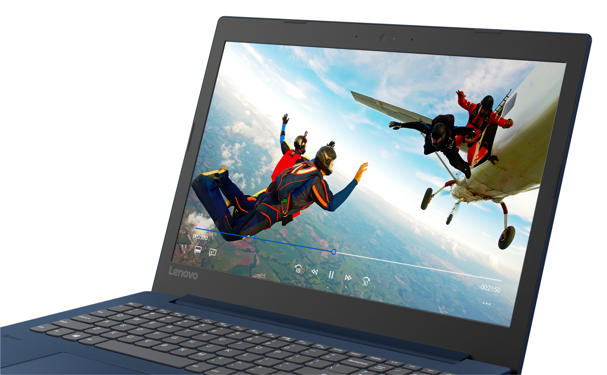 Фото  Ноутбук Lenovo ideapad 330-15 Midnight Blue (81D100LWRA)