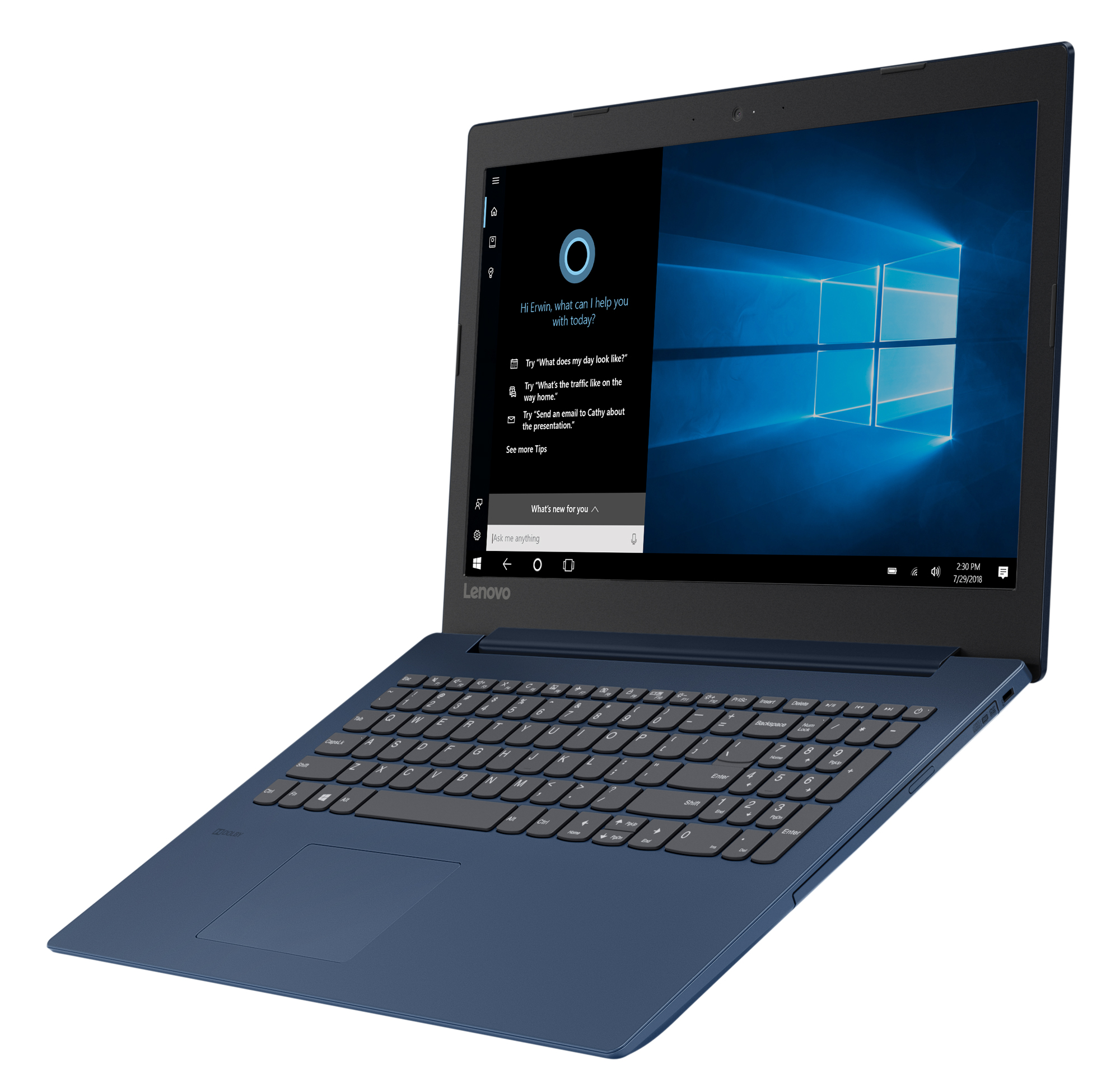 Фото  Ноутбук Lenovo ideapad 330-15 Midnight Blue (81DC00RFRA)