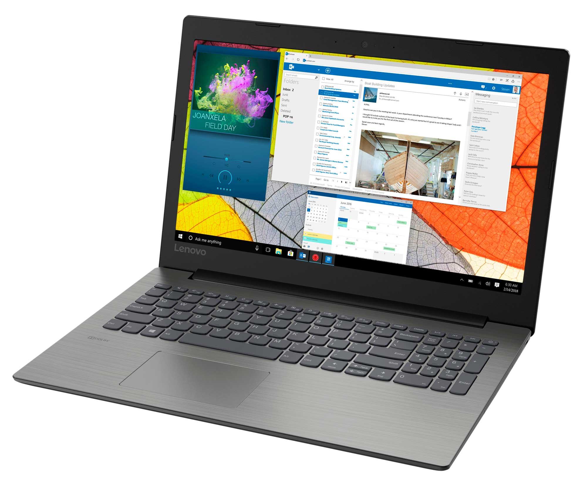 Фото  Ноутбук Lenovo ideapad 330-15 Onyx Black (81DE01VPRA)