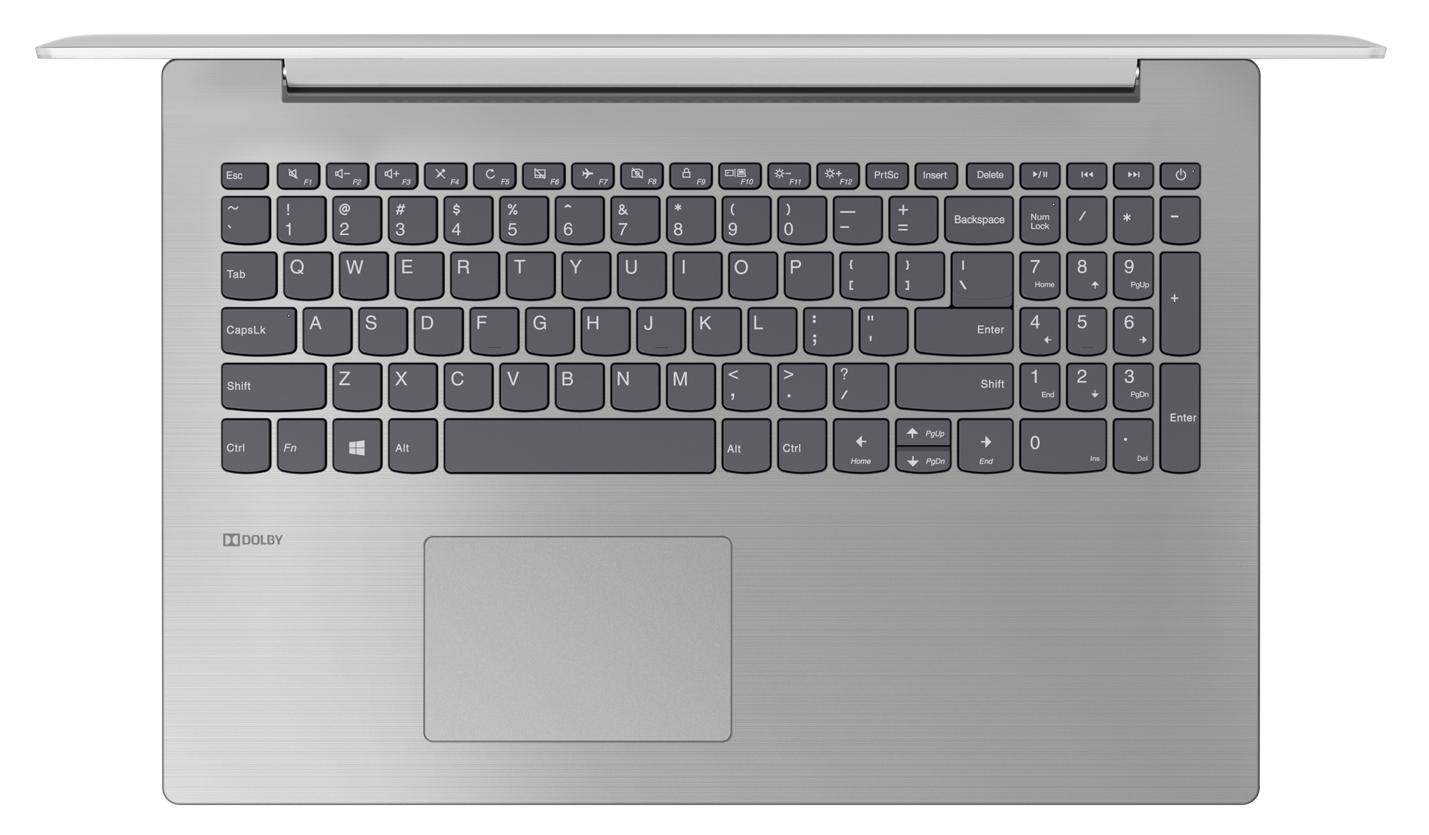 Фото  Ноутбук Lenovo ideapad 330-15 Platinum Grey (81D100H5RA)