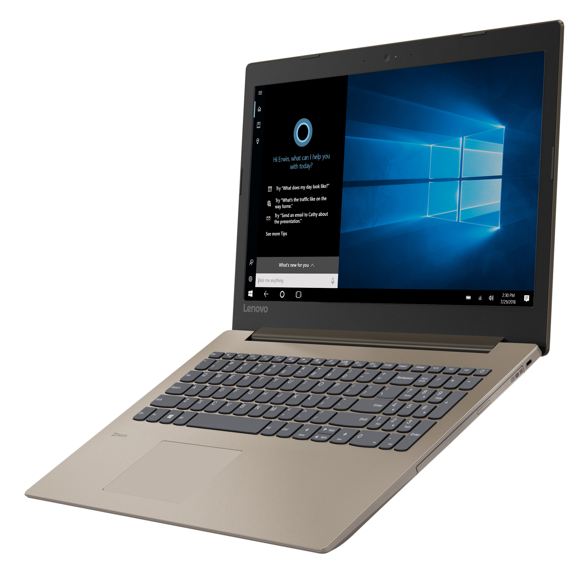 Фото  Ноутбук Lenovo ideapad 330-15 Chocolate (81D100H3RA)