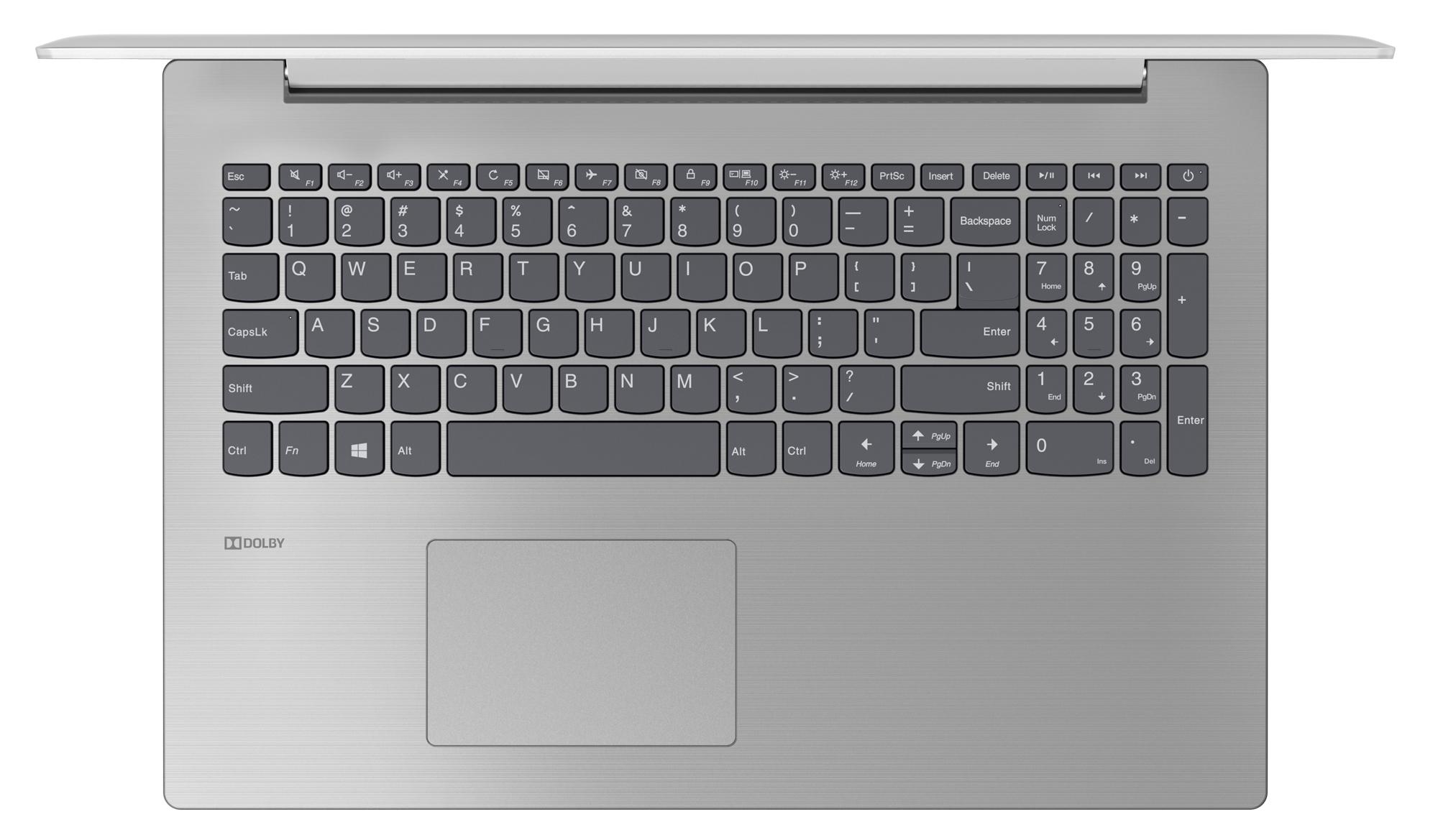 Фото  Ноутбук Lenovo ideapad 330-15 Platinum Grey (81D100H8RA)