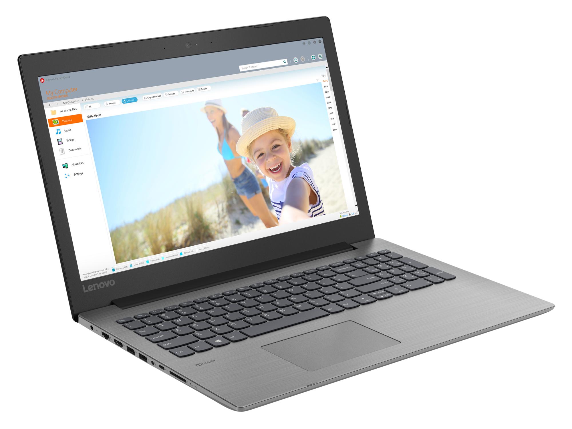 Фото  Ноутбук Lenovo ideapad 330-15 Onyx Black (81D100HJRA)