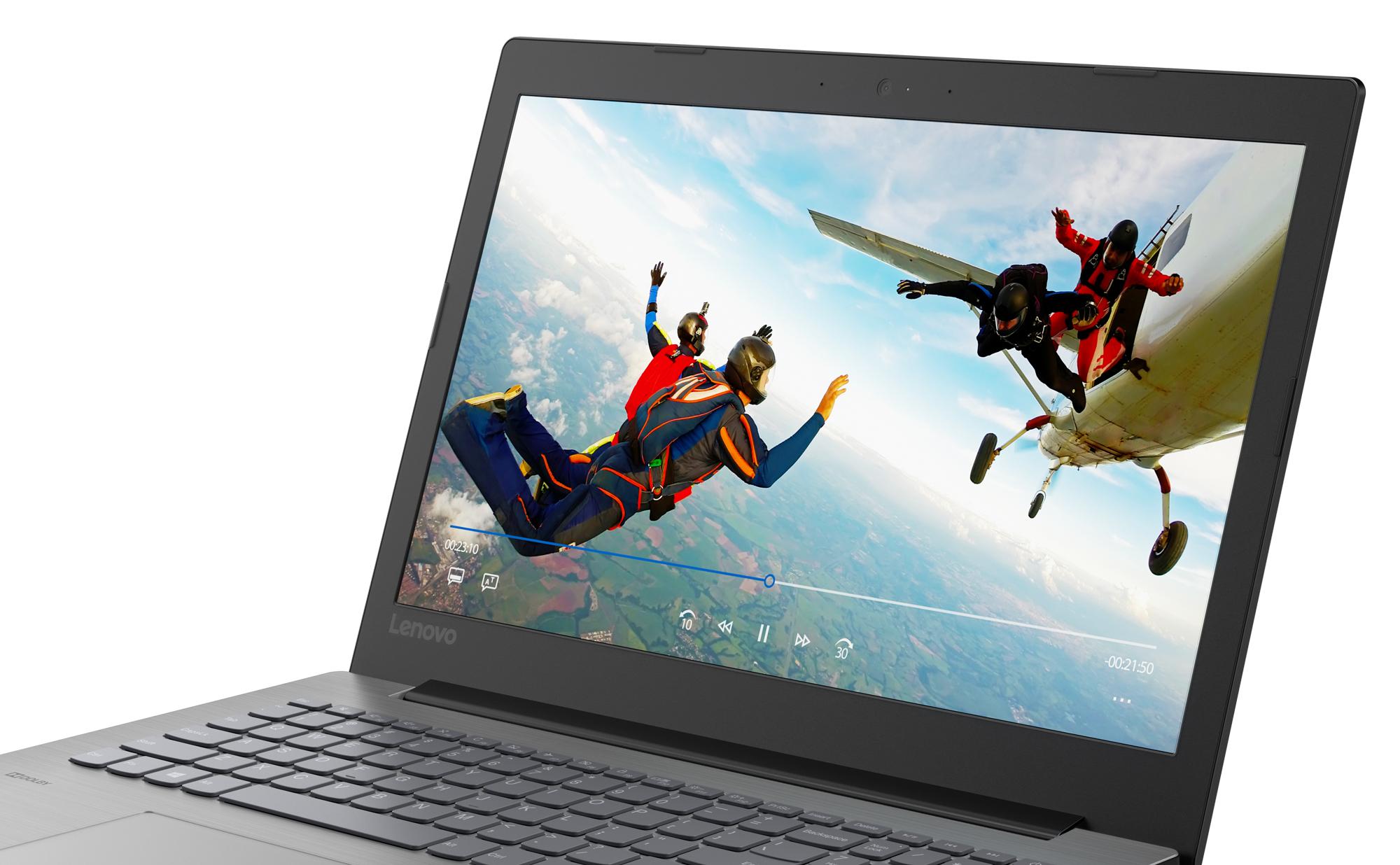Фото  Ноутбук Lenovo ideapad 330-15 Onyx Black (81D100HNRA)