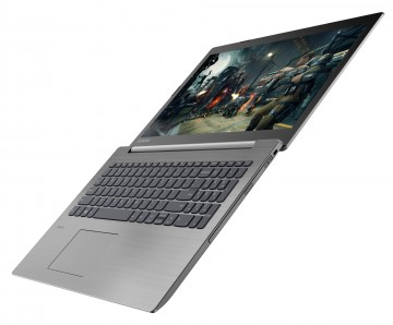 Фото 2 Ноутбук Lenovo ideapad 330-15 Platinum Grey (81D100MCRA)