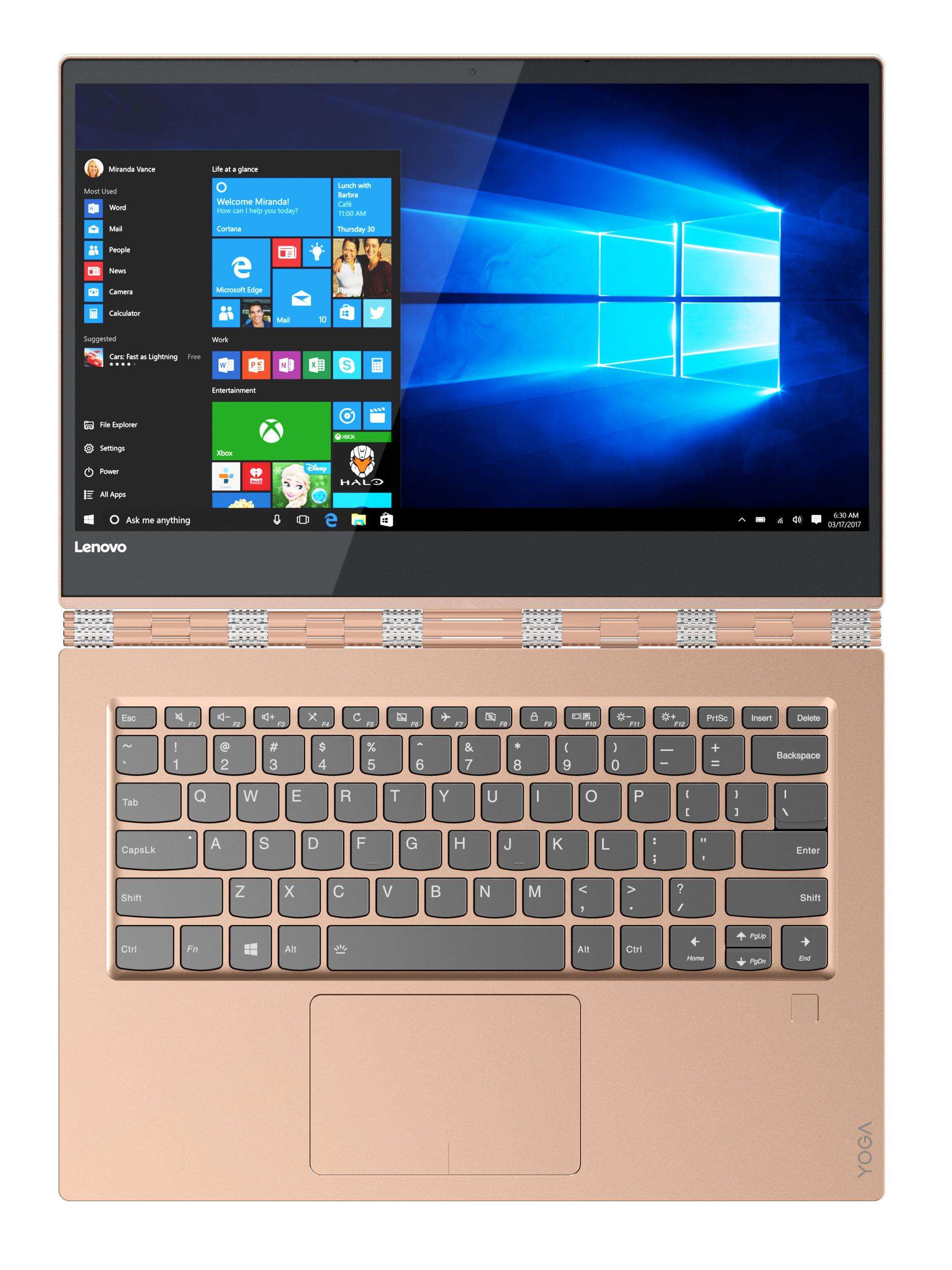 Фото  Ультрабук Lenovo Yoga 920 Copper (80Y700A8RA)