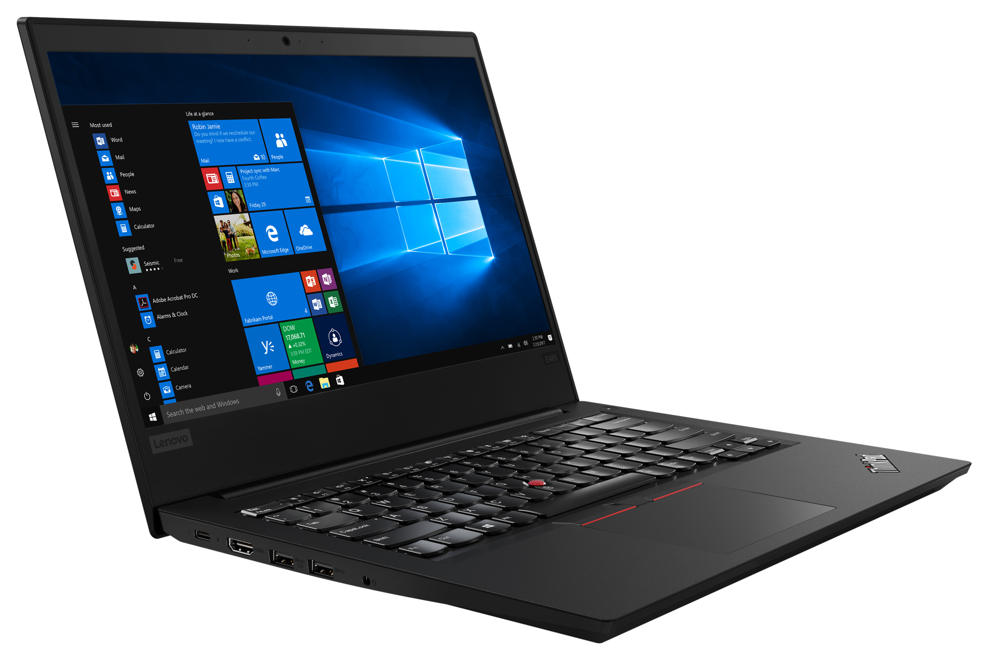 Фото  Ноутбук ThinkPad E485 (20KU000TRT)