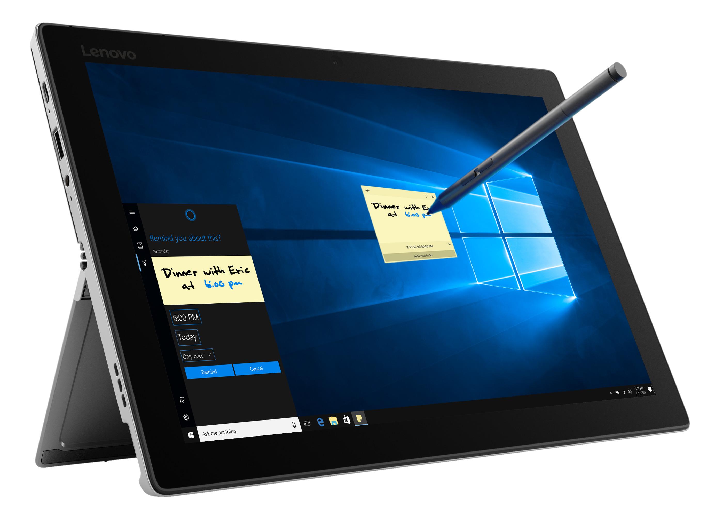 Фото  Планшет Lenovo Miix 520-12IKB I7 8 512 Windows 10 Pro Platinum (81CG01P8RA)
