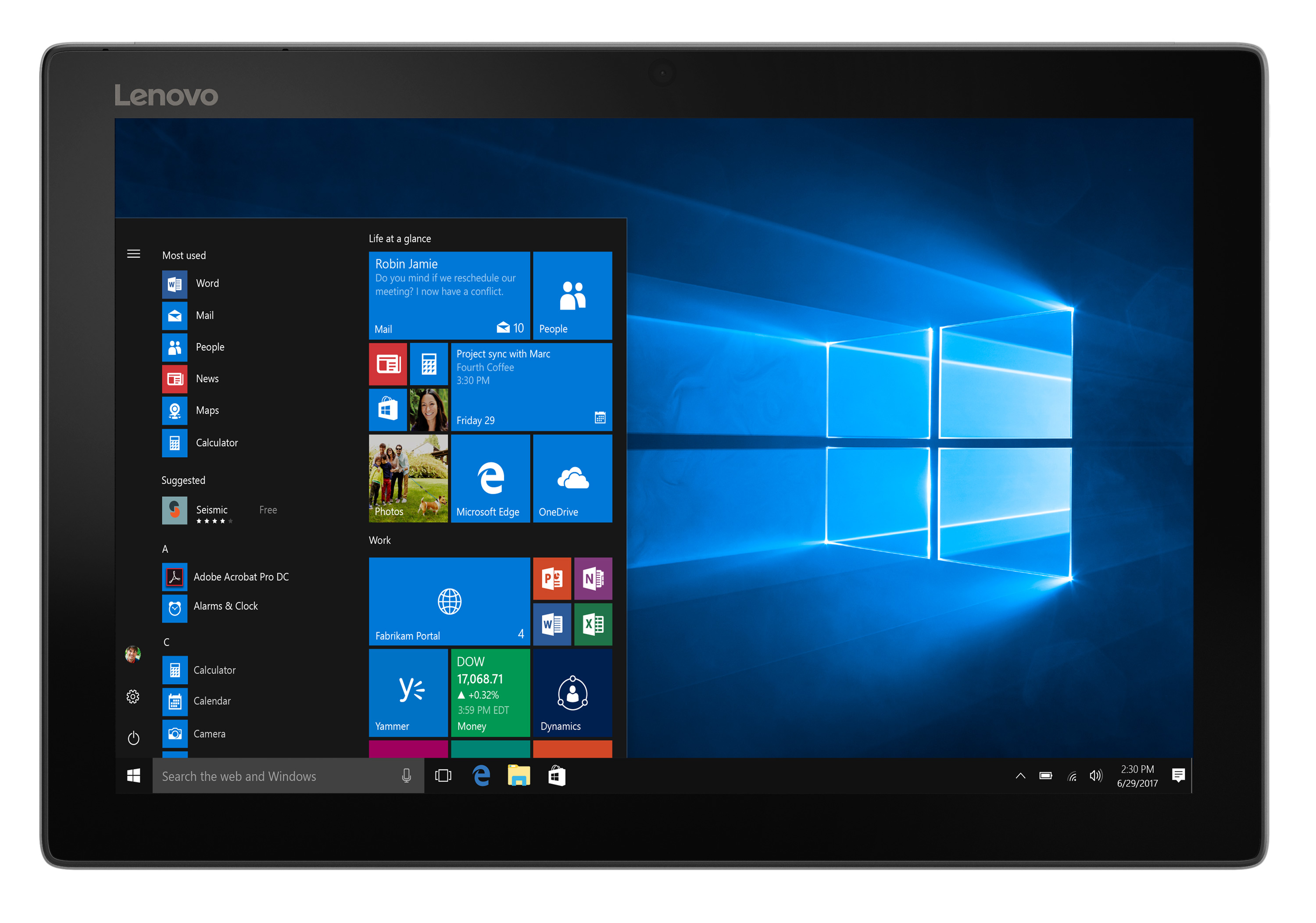 Фото  Планшет Lenovo Miix 520-12IKB I5 8 256 LTE Windows 10 Pro Platinum (81CG01R4RA)