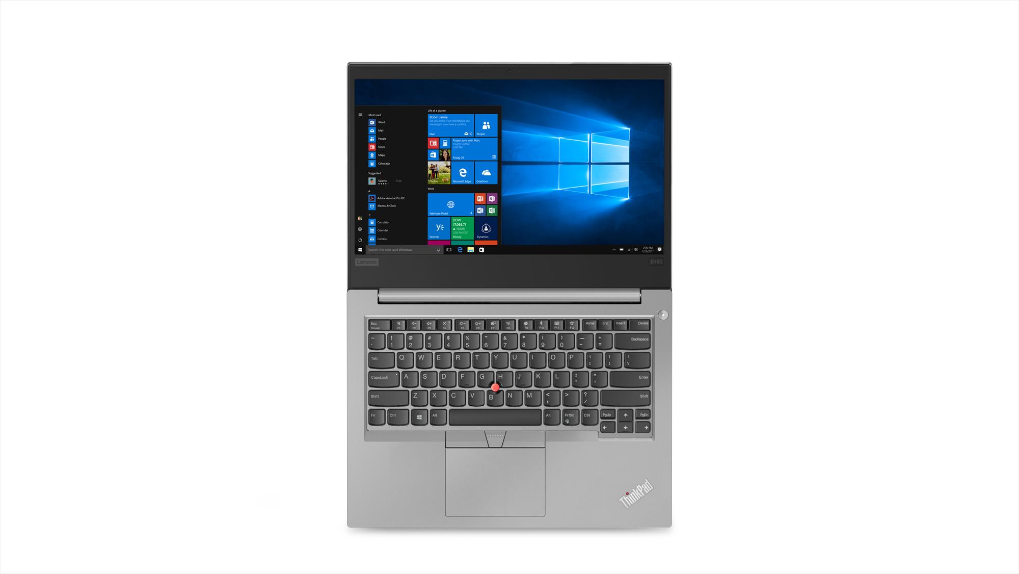 Фото  Ноутбук ThinkPad E480 (20KN004VRT)