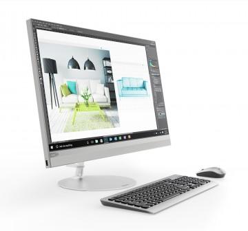 Фото 1 Моноблок Lenovo ideacentre 520-27 (F0DE009NUA) Silver