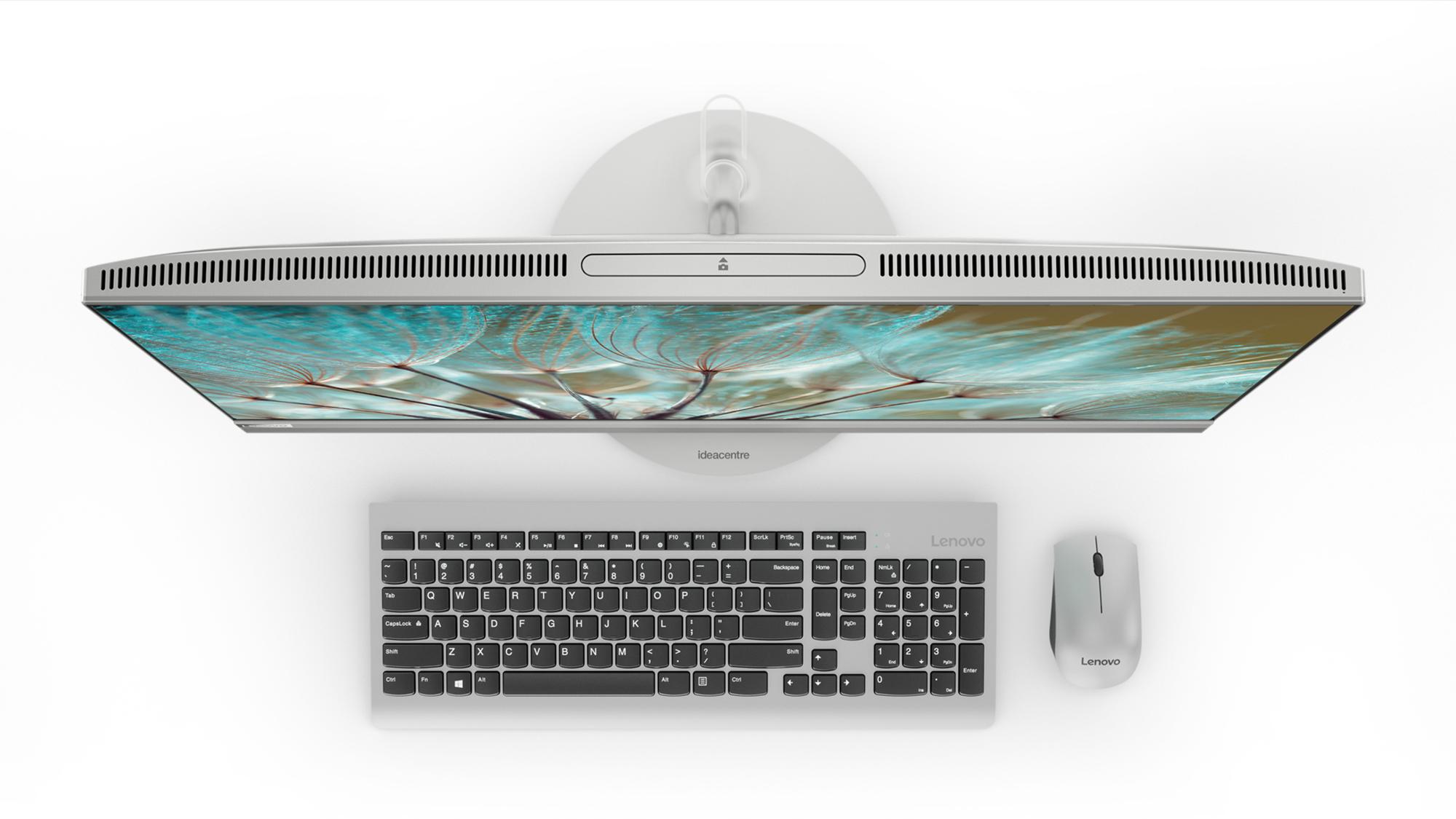 Фото  Моноблок Lenovo ideacentre 520-27 (F0DE009NUA) Silver