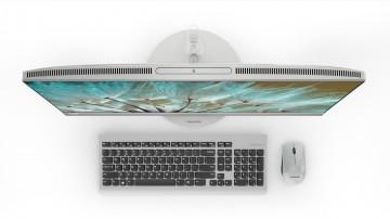 Фото 3 Моноблок Lenovo ideacentre 520-27 (F0DE009NUA) Silver