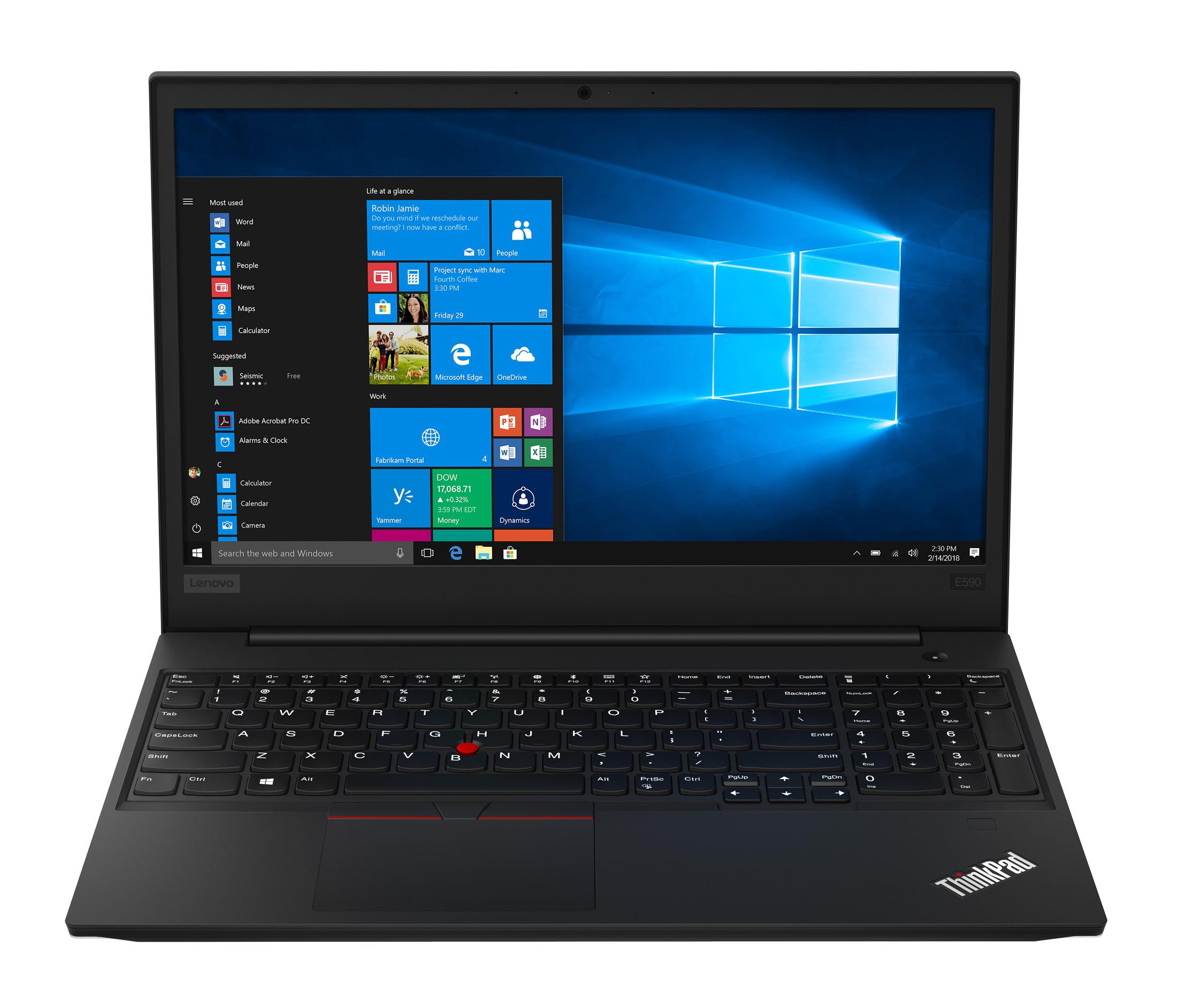 Фото  Ноутбук ThinkPad E590 (20NB0010RT)