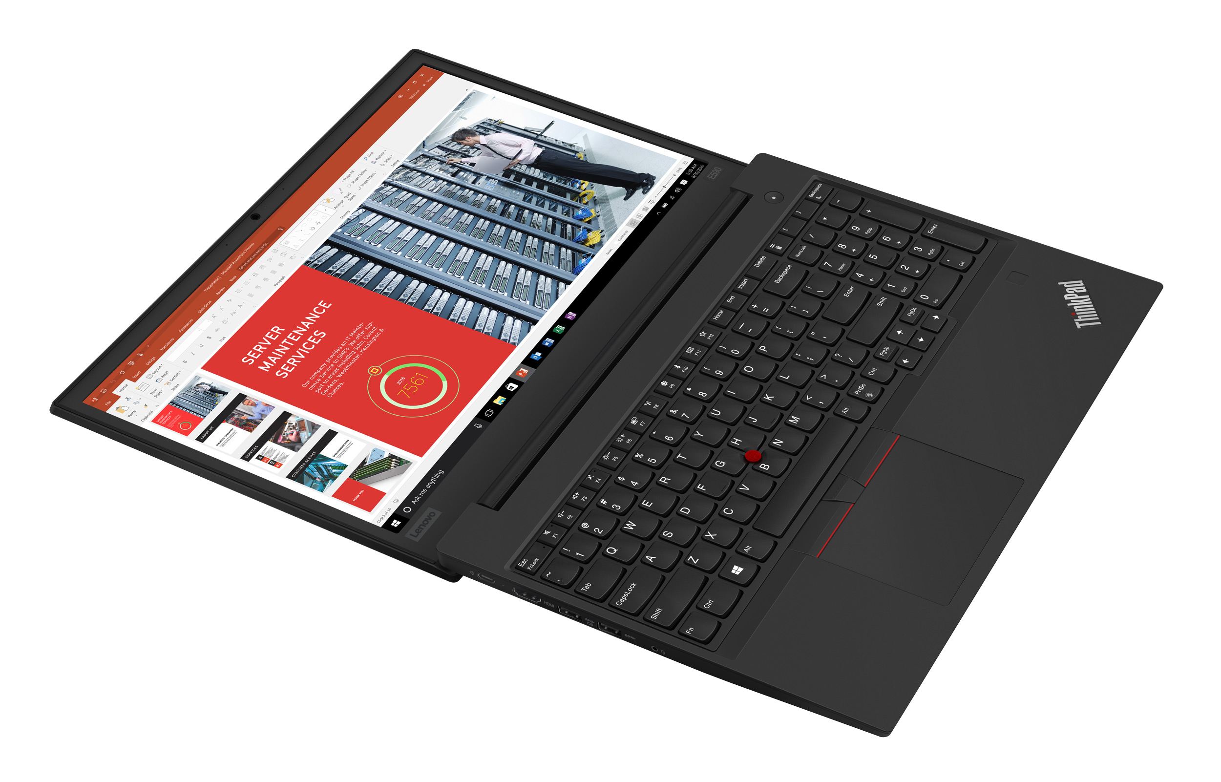 Фото  Ноутбук ThinkPad E590 (20NB005GRT)