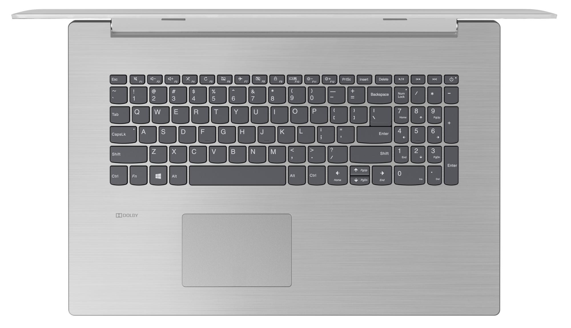 Фото  Ноутбук Lenovo ideapad 330-17IKBR Platinum Grey (81DM00EURA)