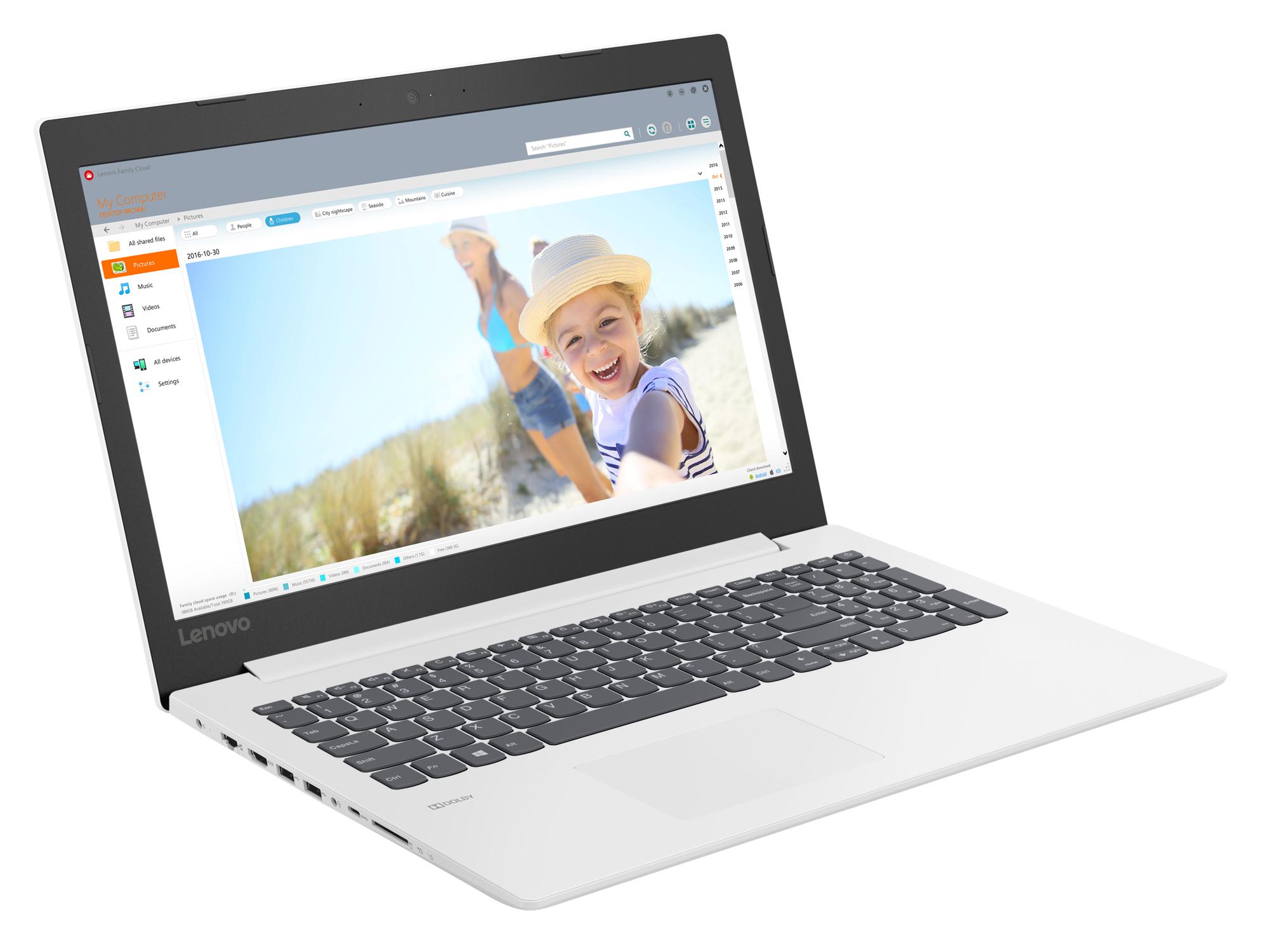 Фото  Ноутбук Lenovo ideapad 330-15 Blizzard White (81DC0125RA)