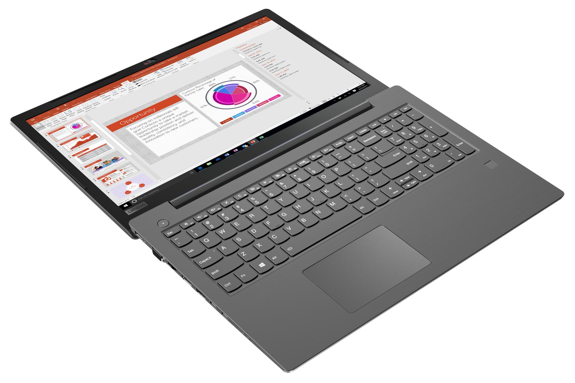 Фото  Ноутбук Lenovo V330-15 Grey (81AX016SRA)