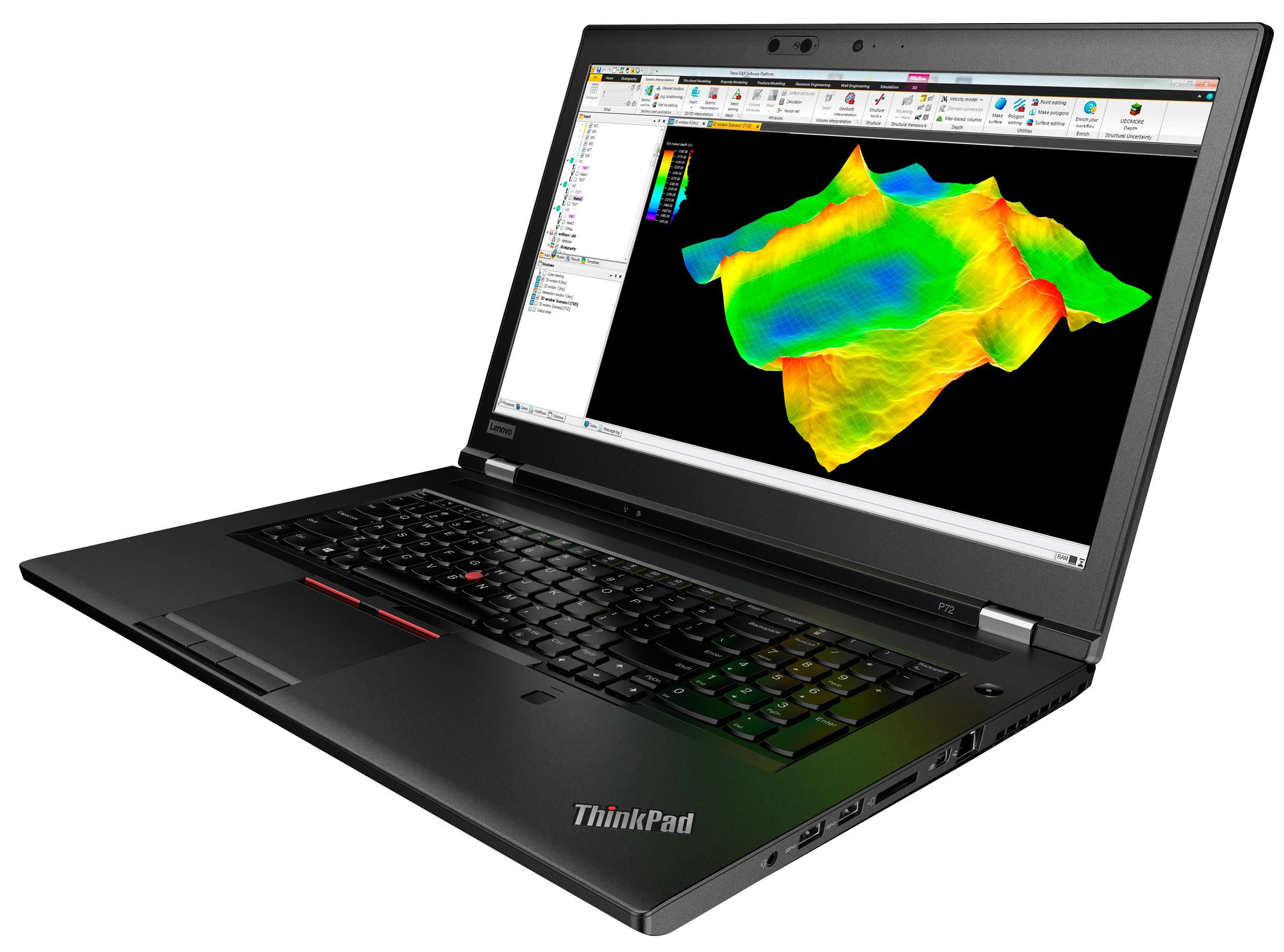 Фото  Ноутбук ThinkPad P72 (20MB0010RT)