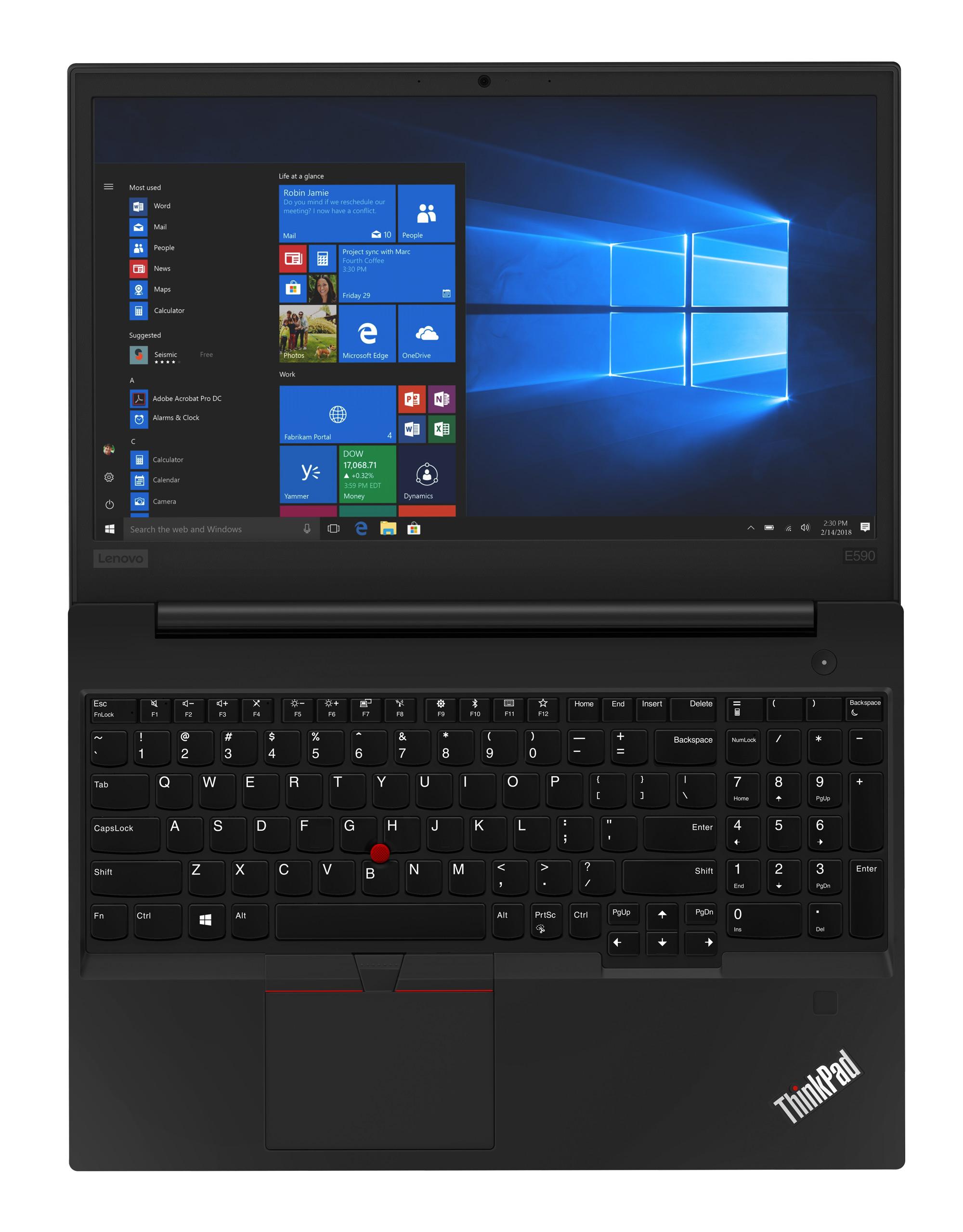 Фото  Ноутбук ThinkPad E590 (20NB000WRT)