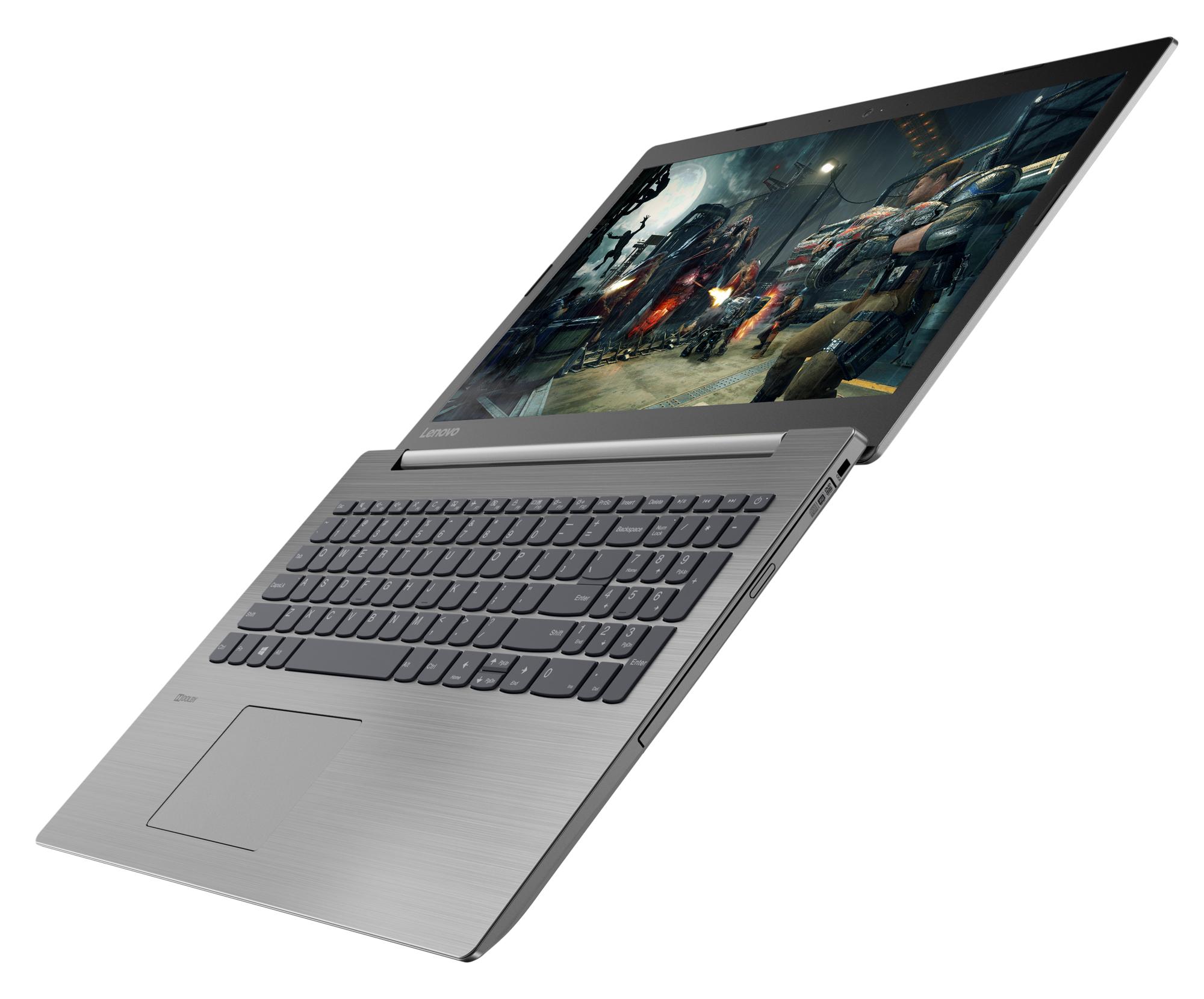 Фото  Ноутбук Lenovo ideapad 330-15IGM Platinum Grey (81D100KVRU)