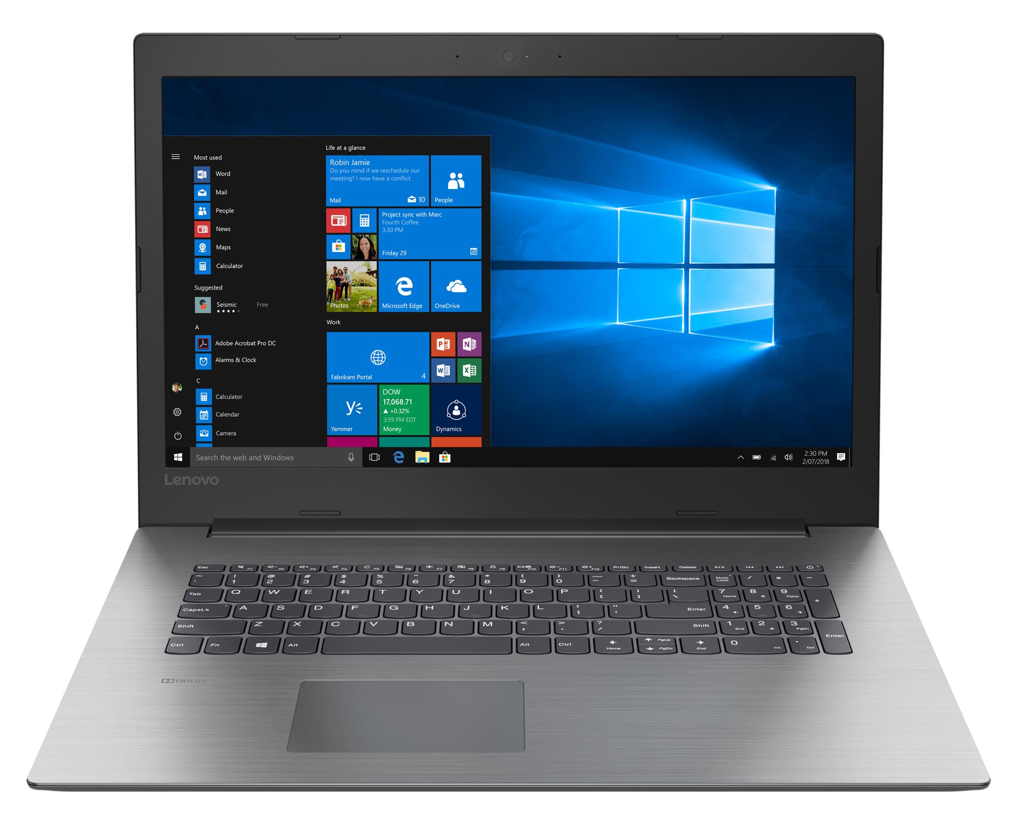 Фото  Ноутбук Lenovo ideapad 330-17ICH Onyx Black (81FL000NRU)