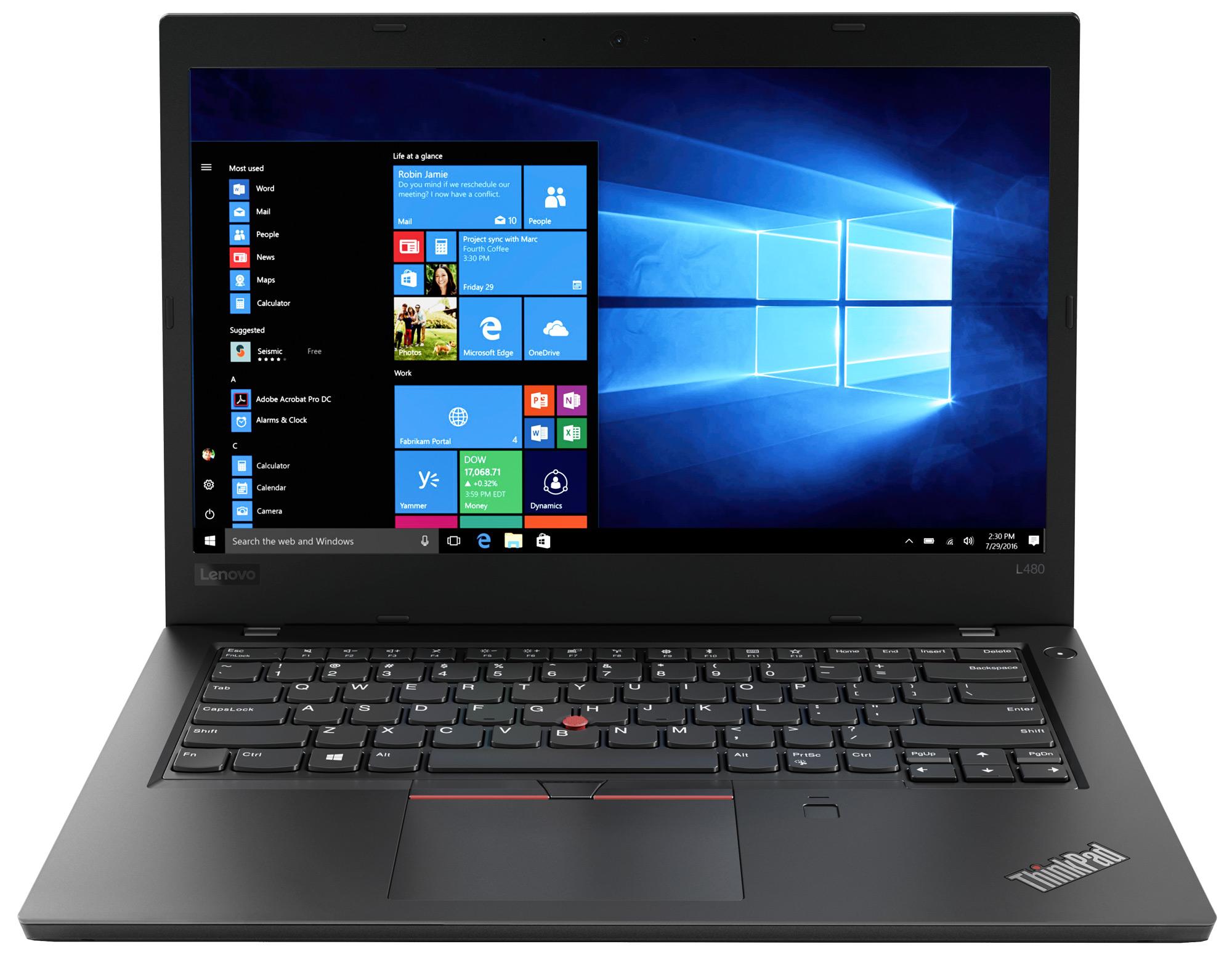 Фото  Ноутбук ThinkPad L480 (20LS002DRT)