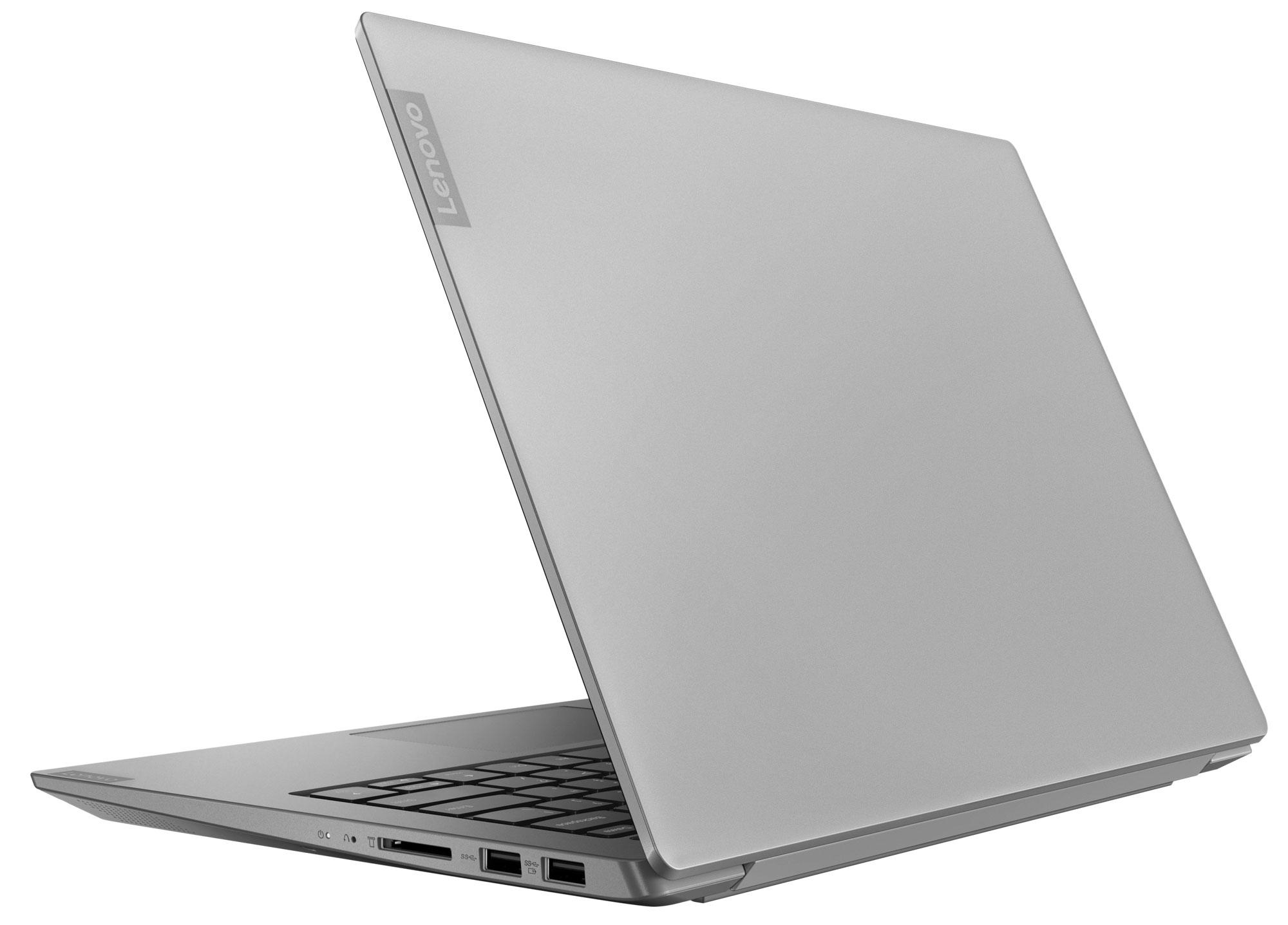 Фото  Ноутбук Lenovo ideapad S340-14IWL Platinum Grey (81N700B3RE)