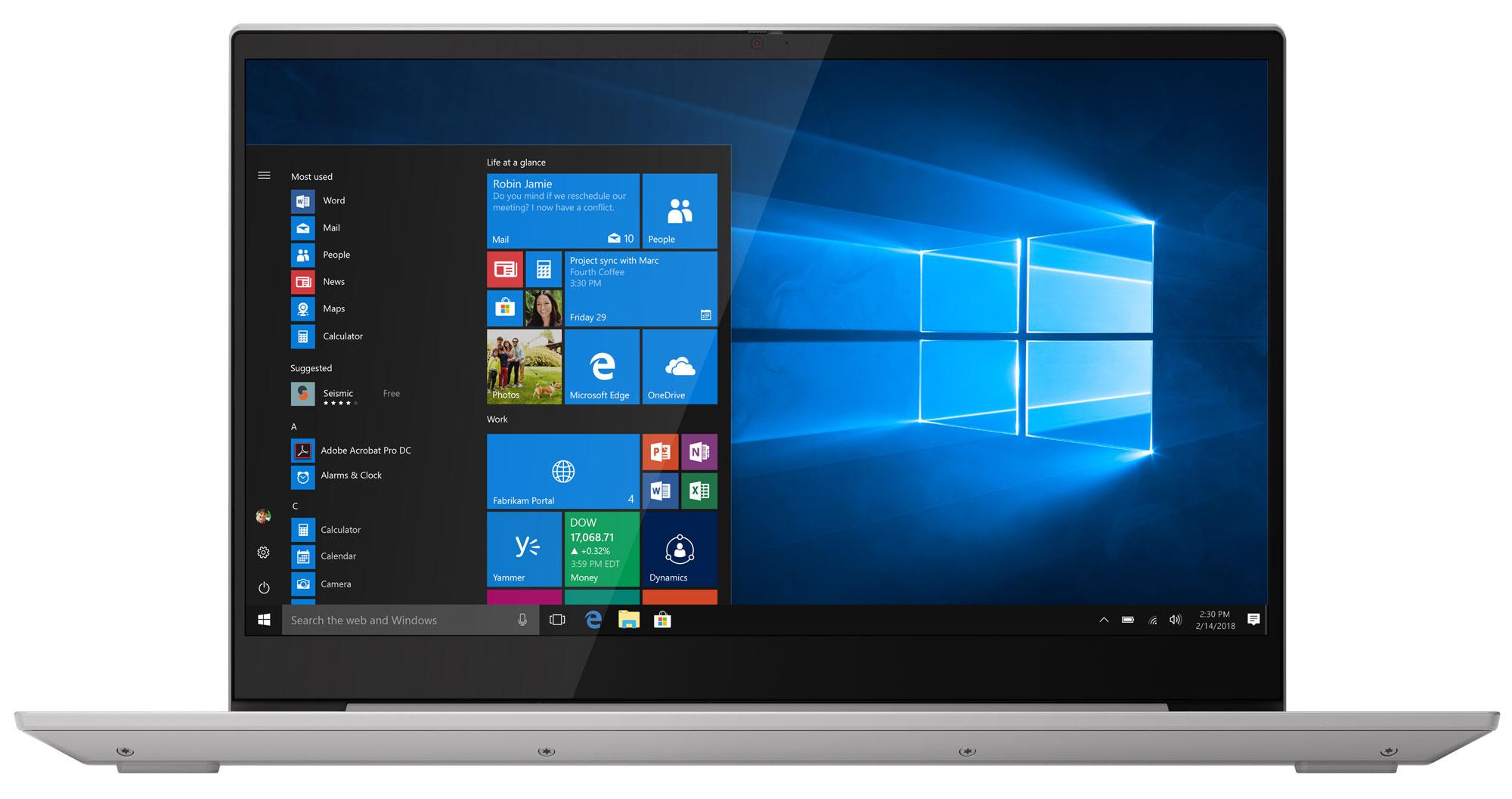 Фото  Ноутбук Lenovo ideapad S340-15IWL Platinum Grey (81N800M4RE)