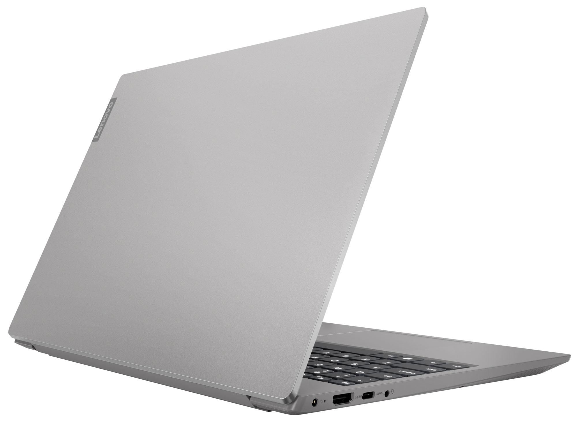 Фото  Ноутбук Lenovo ideapad S340-15IWL Platinum Grey (81N800BMRE)