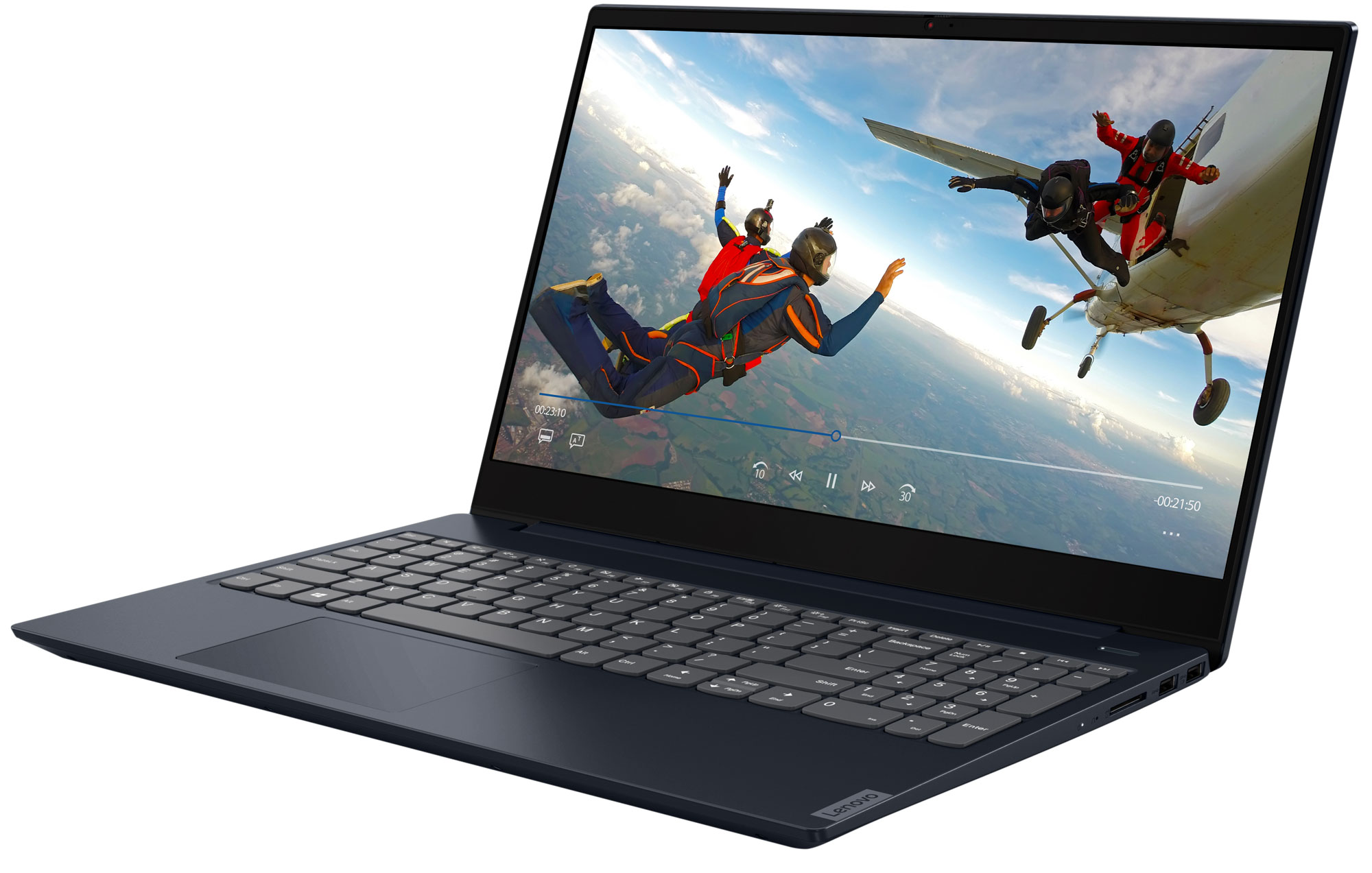 Фото  Ноутбук Lenovo ideapad S340-15IWL Abyss Blue (81N800M2RE)