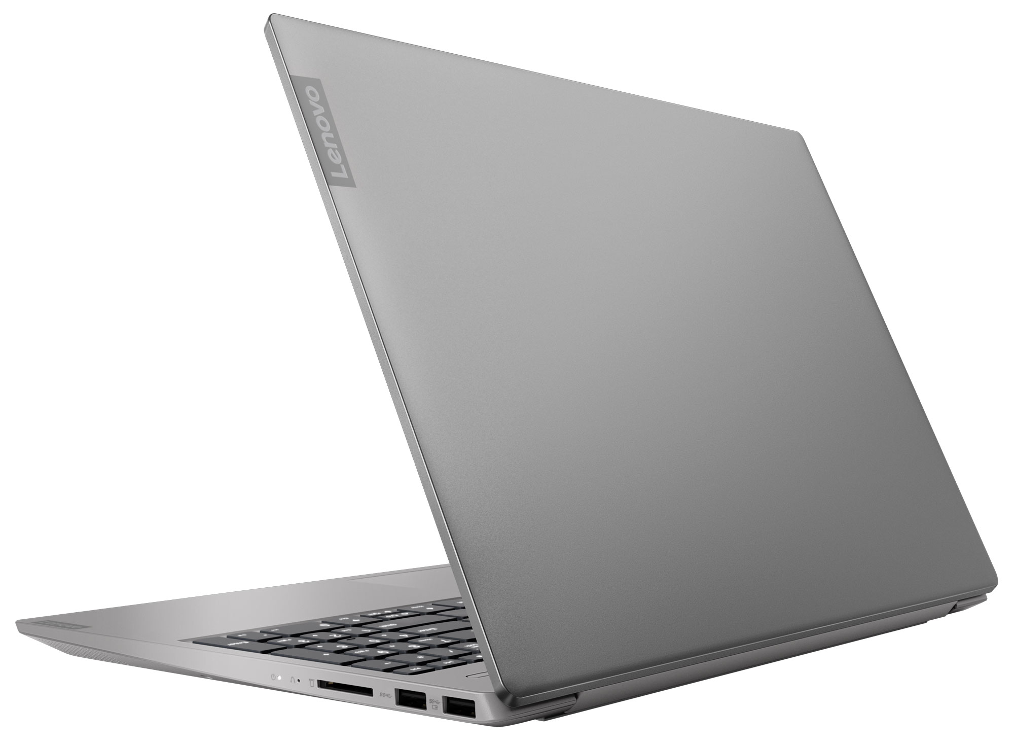 Фото  Ноутбук Lenovo ideapad S340-15IWL Platinum Grey (81N800B7RE)