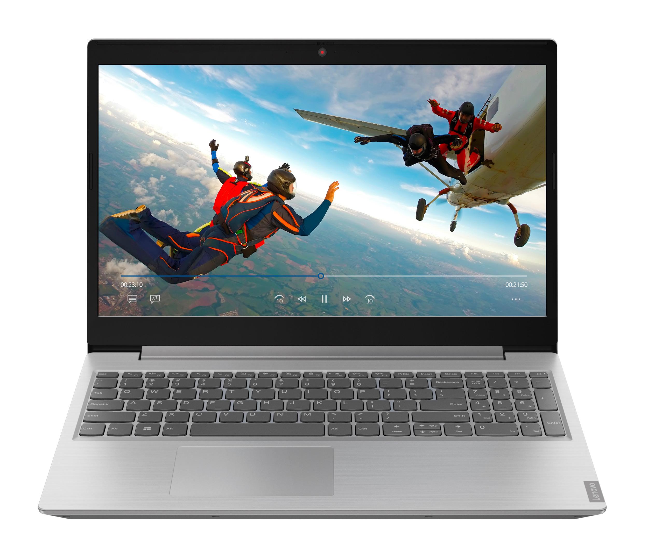 Фото  Ноутбук Lenovo ideapad L340-15IWL Platinum Grey (81LG0060RE)