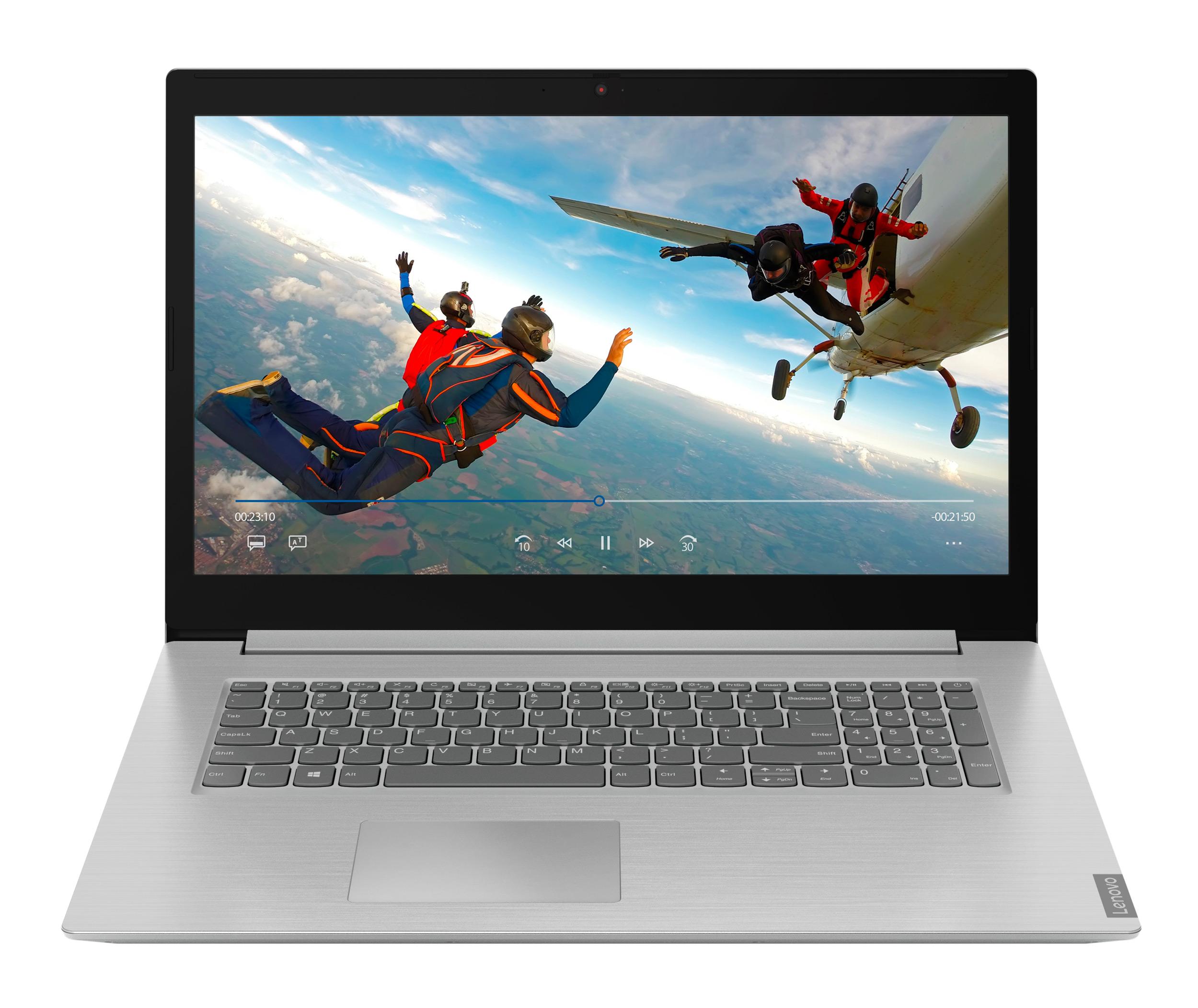 Фото  Ноутбук Lenovo ideapad L340-17API Platinum Grey (81LY000TRE)