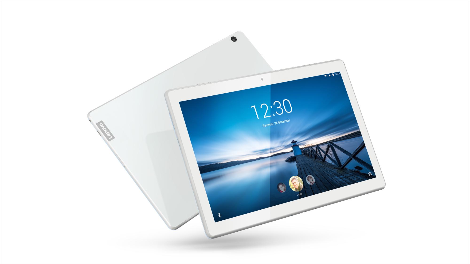 Фото  Планшет  Lenovo Tab M10 X605L LTE 2/16GB Polar White (ZA490060UA)