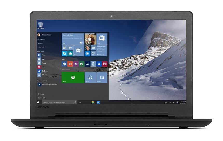 Фото  Ноутбук Lenovo ideapad 110-15IBR Black Texture (80T7004URA)