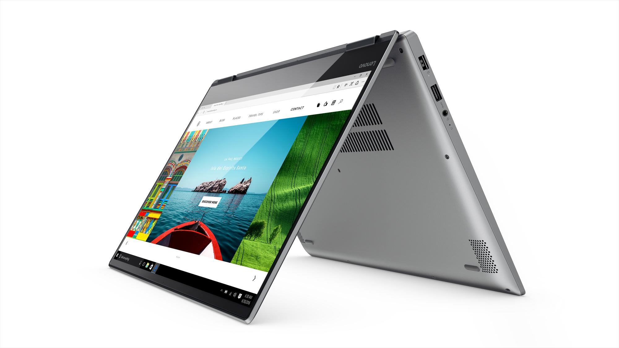 Фото  Ультрабук Lenovo Yoga 720-15IKB Iron Grey (80X700B6RU)